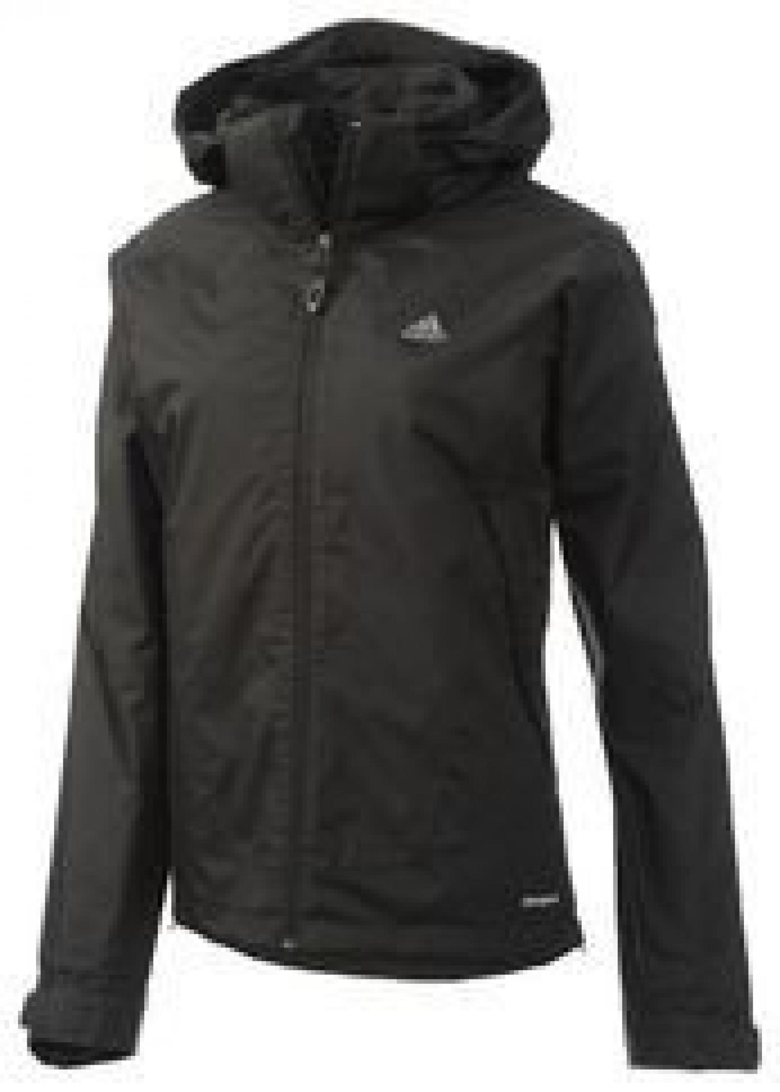 adidas Hiking 3in1 Fleece Jacket Women schwarz