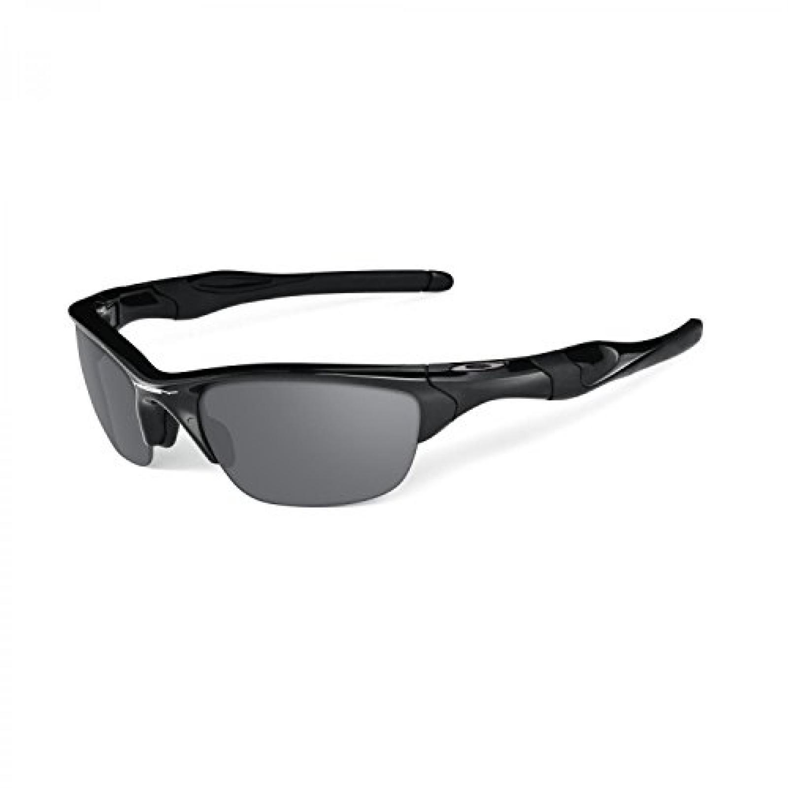 Herren Sport- und Sonnenbrille Half Jacket 2.0 XL - matte black/black iridium polarized