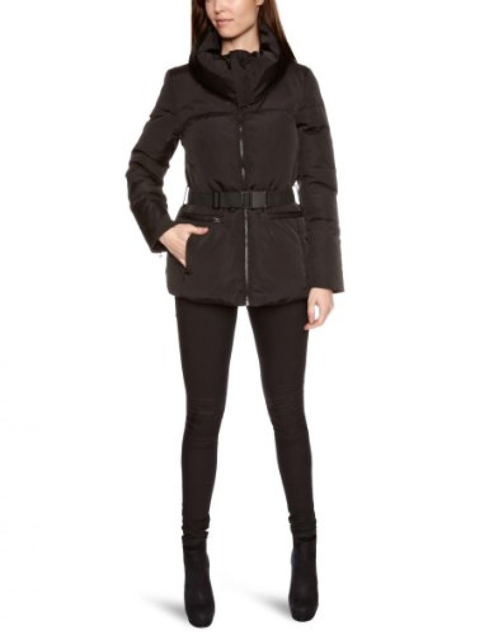 Jackpot Damen Jacke mit Gürtel A46483004 / Mimena, Schalkragen