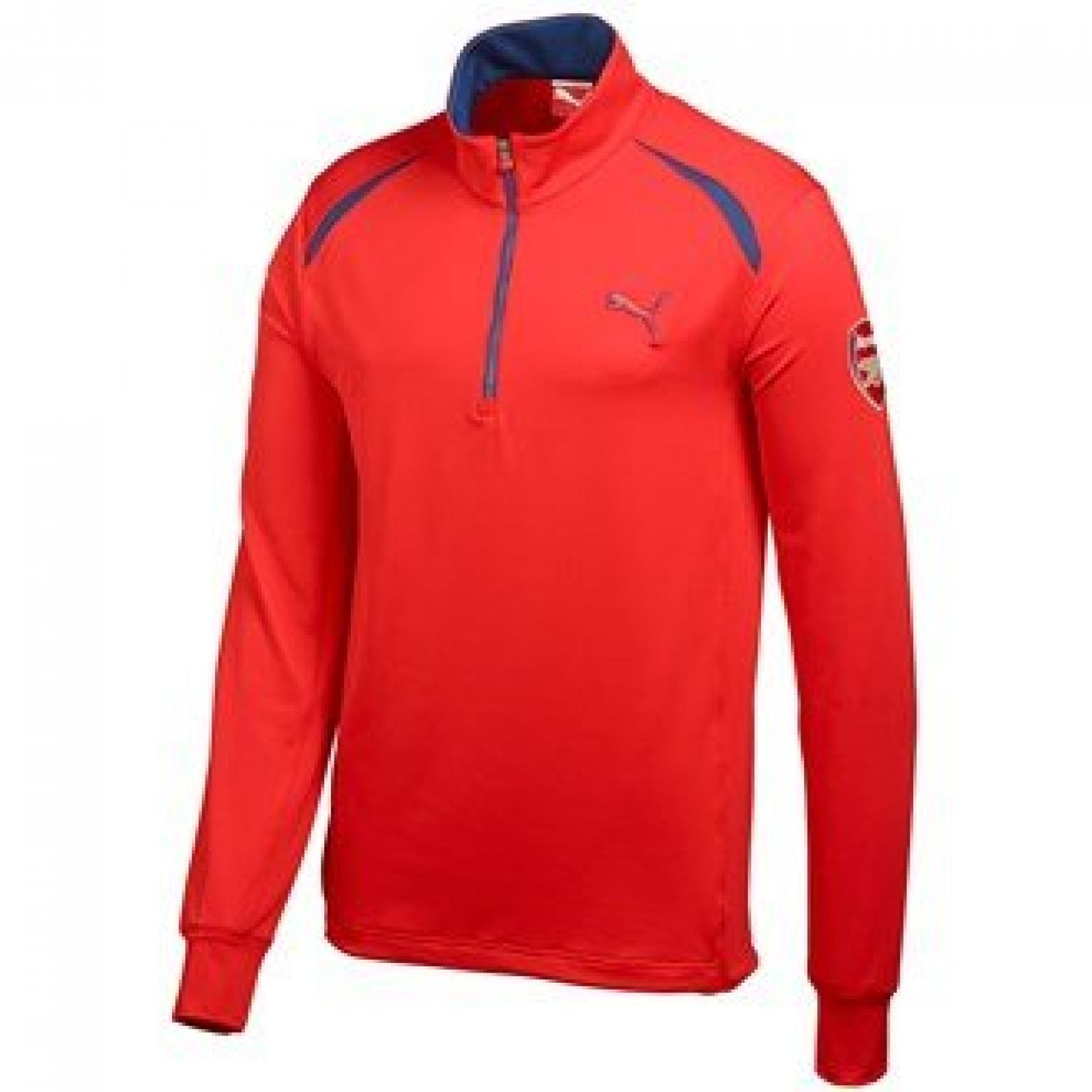 Puma AFC Golf LS Top high risk red