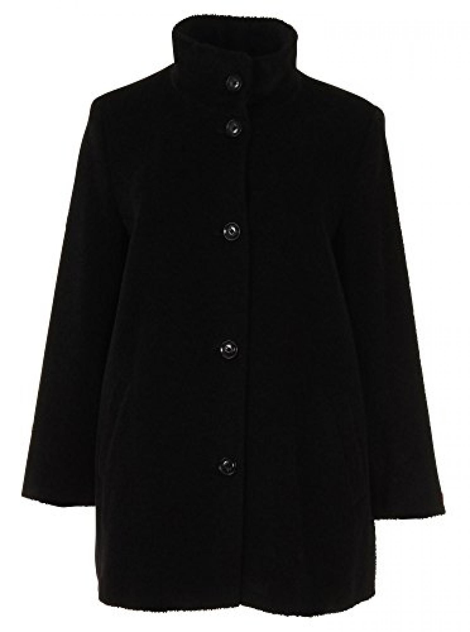 Baronia - Damen - schwarze Wolljacke