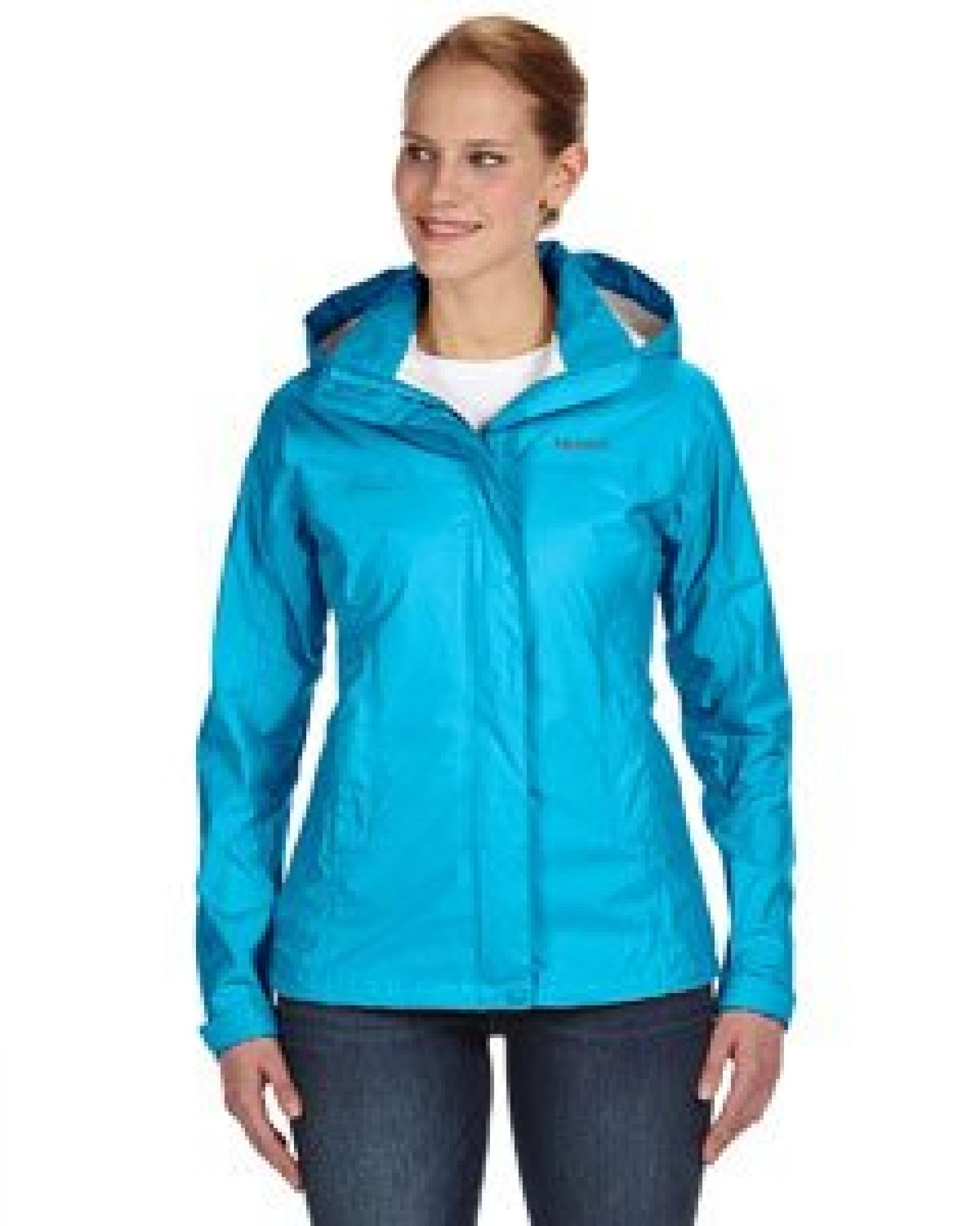 Ladies PreCip Jacket BLACK - XL
