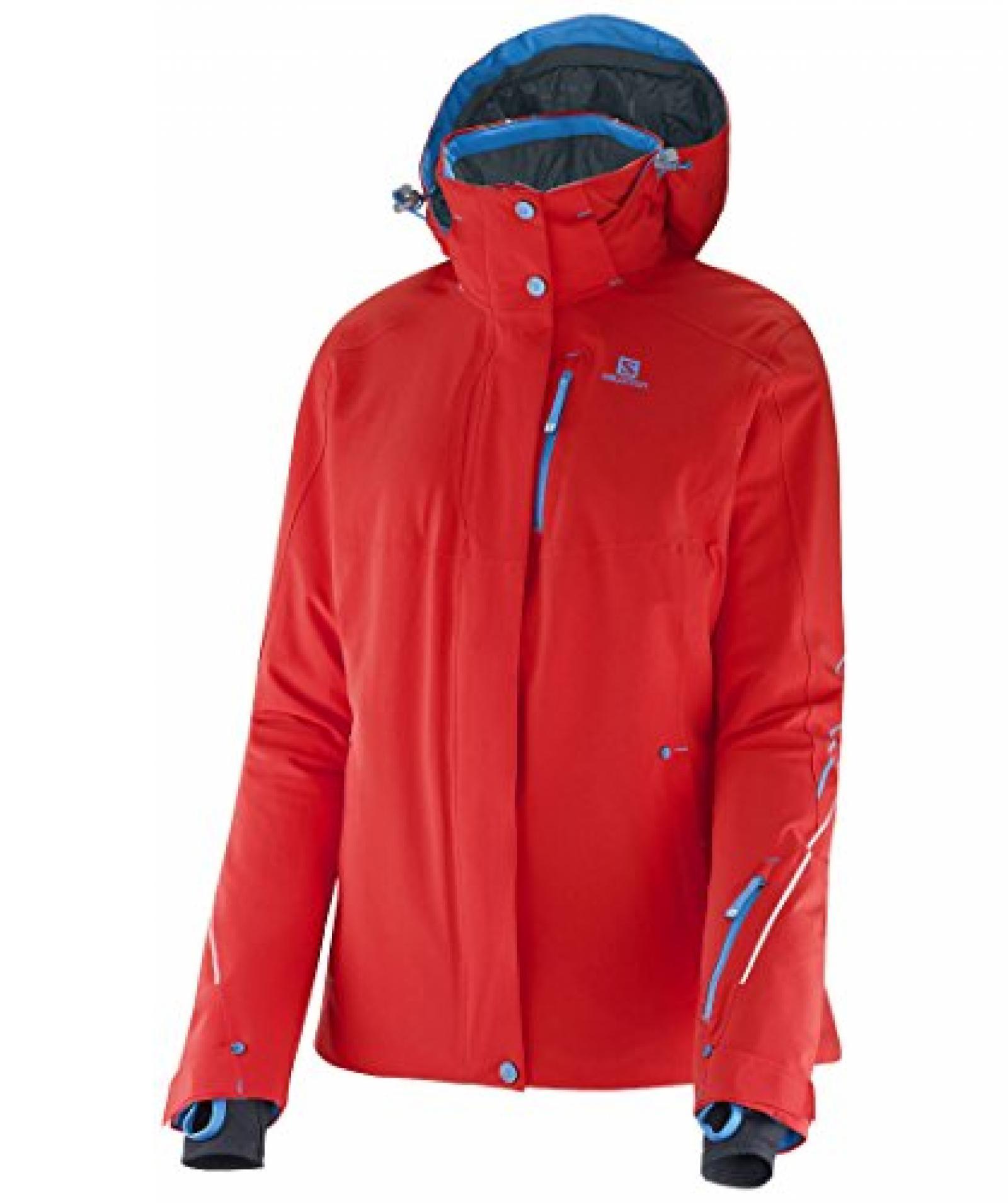 Damen Skijacke Brillant Jacket W poppy