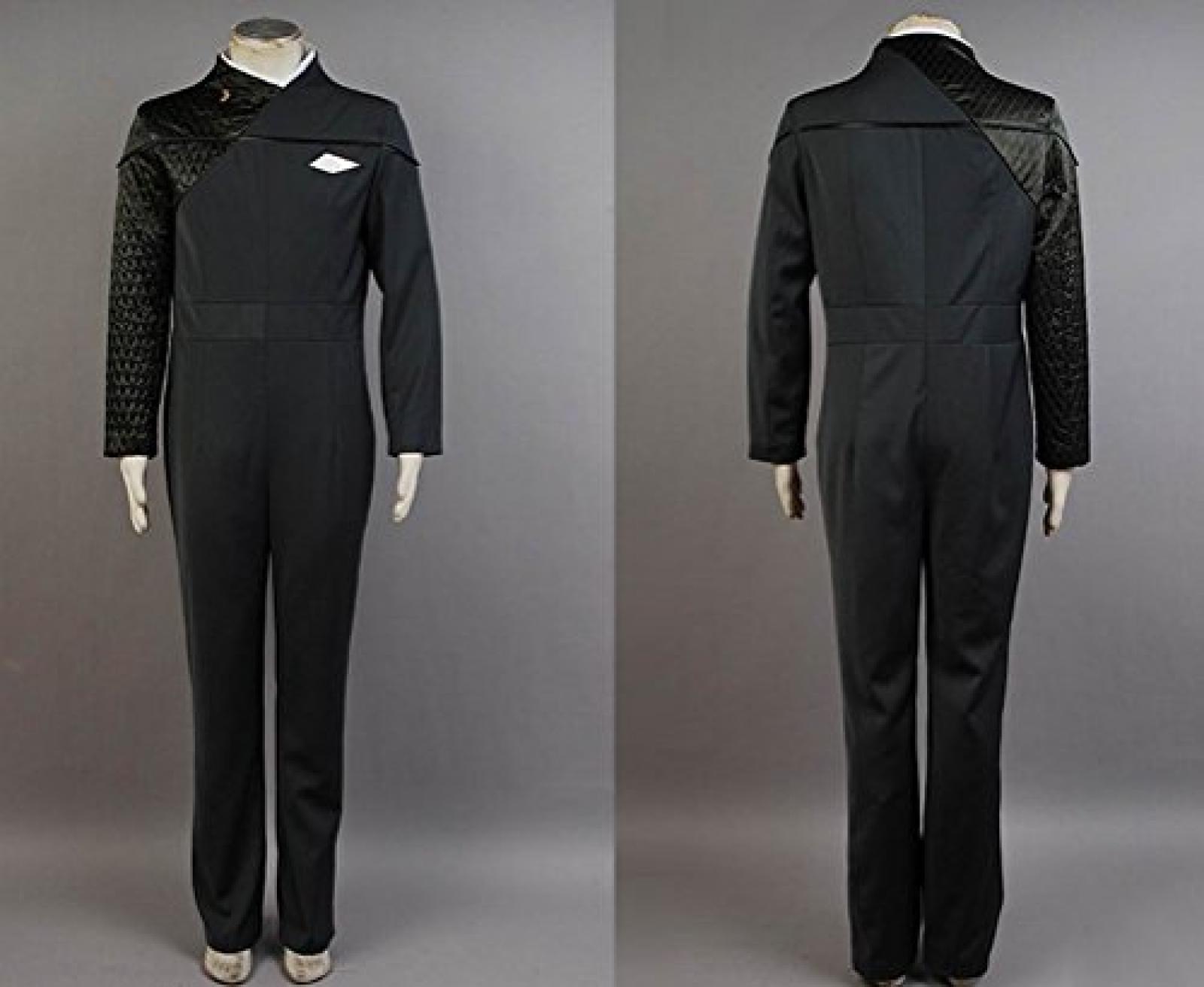 Star Trek: Voyager Relativity Starfleet 29th Century Science Cosplay Uniform Dunkel Gruen