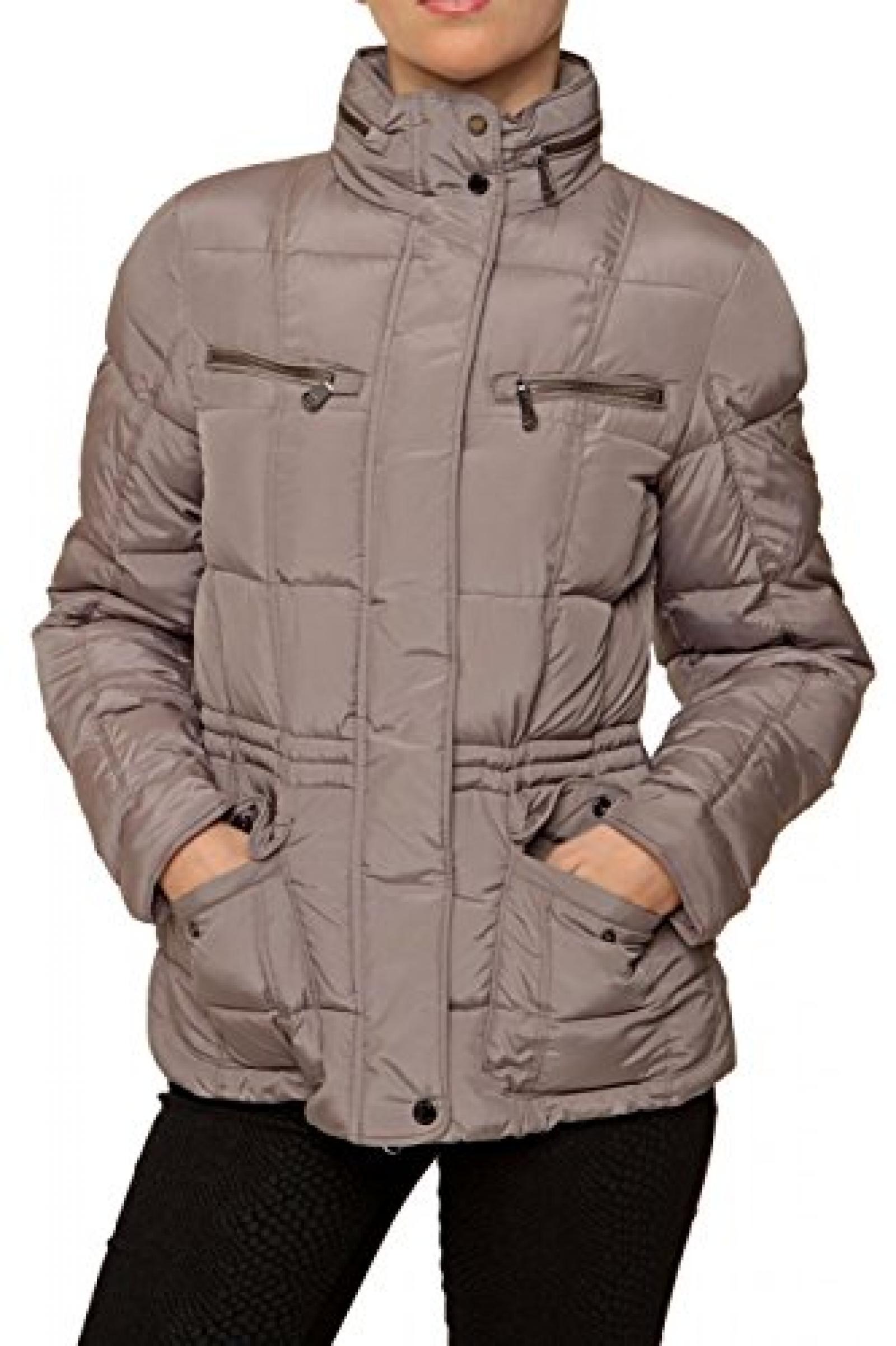 Geox Damen Jacke Winterjacke , Farbe: Grau