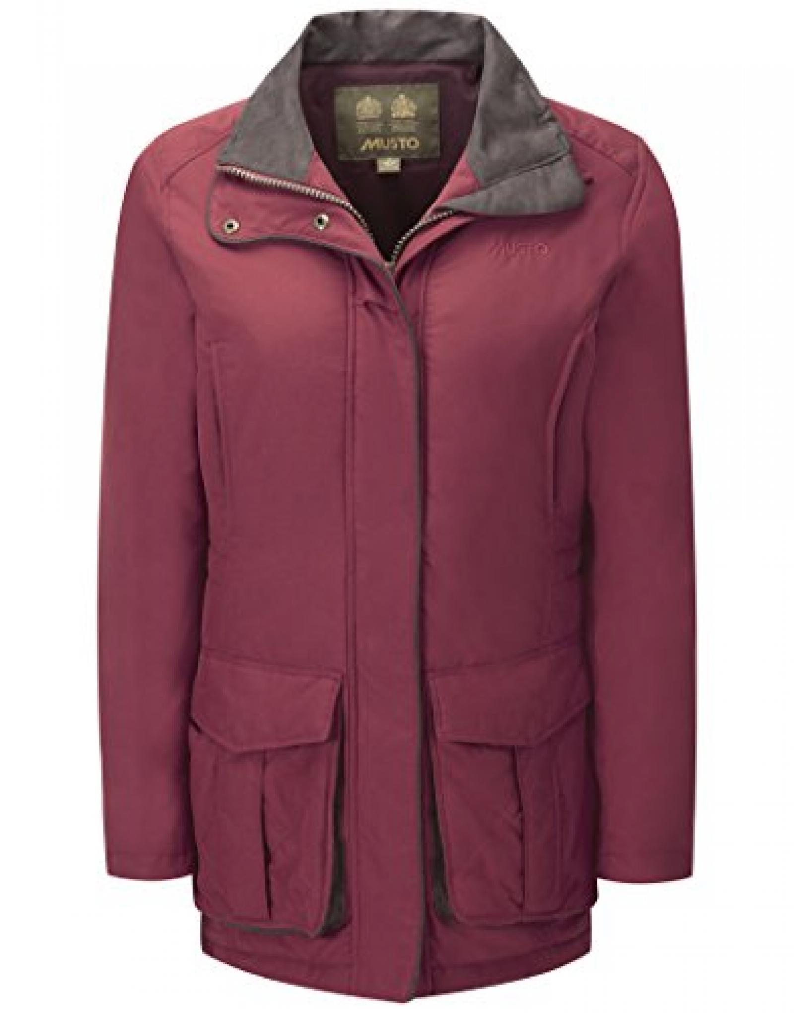 Musto Ladies? Sedgemoor Jacket ? Dark Chilli