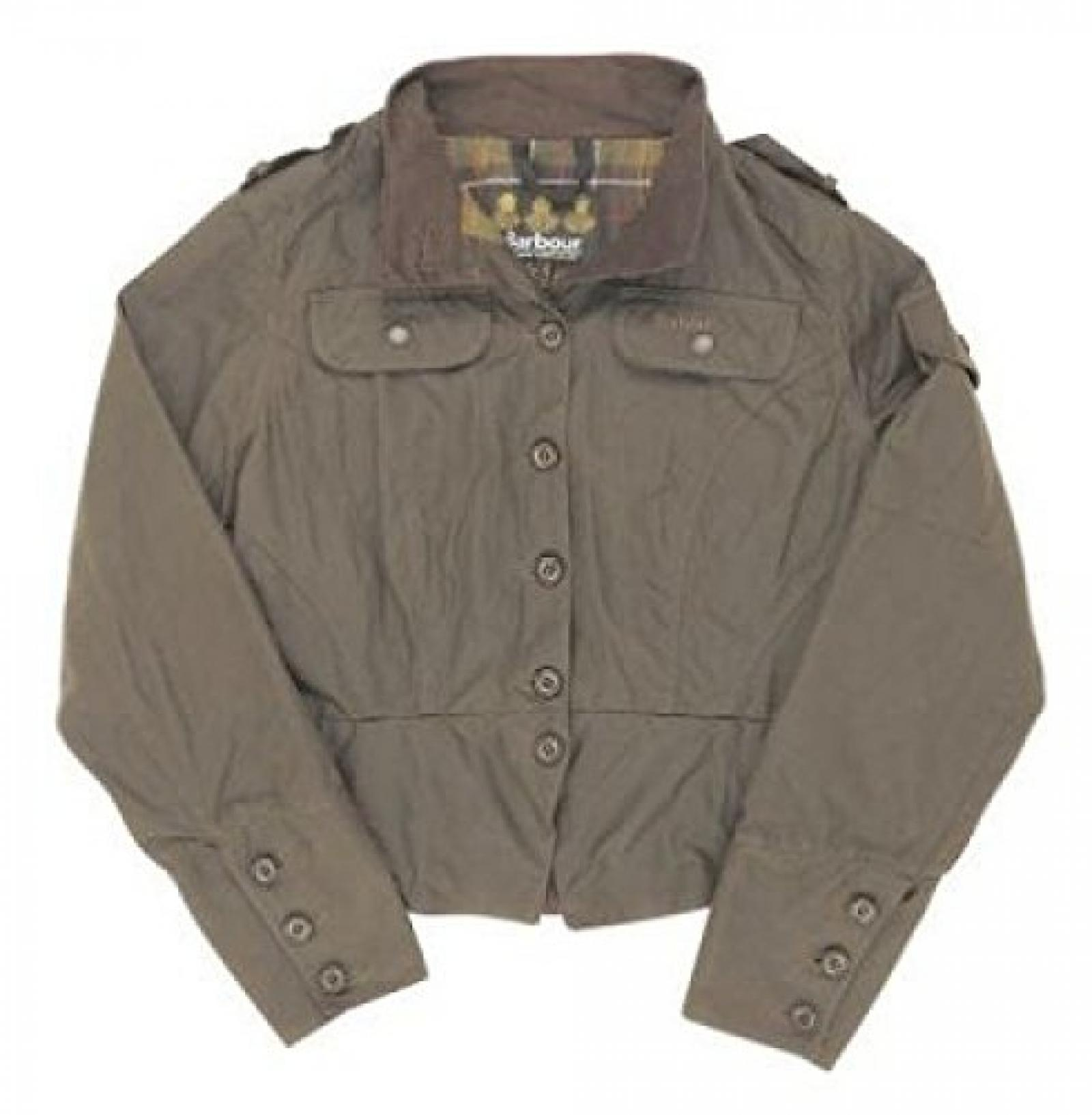 "Barbour ""Short Shaped Plenum Biker Jacket"