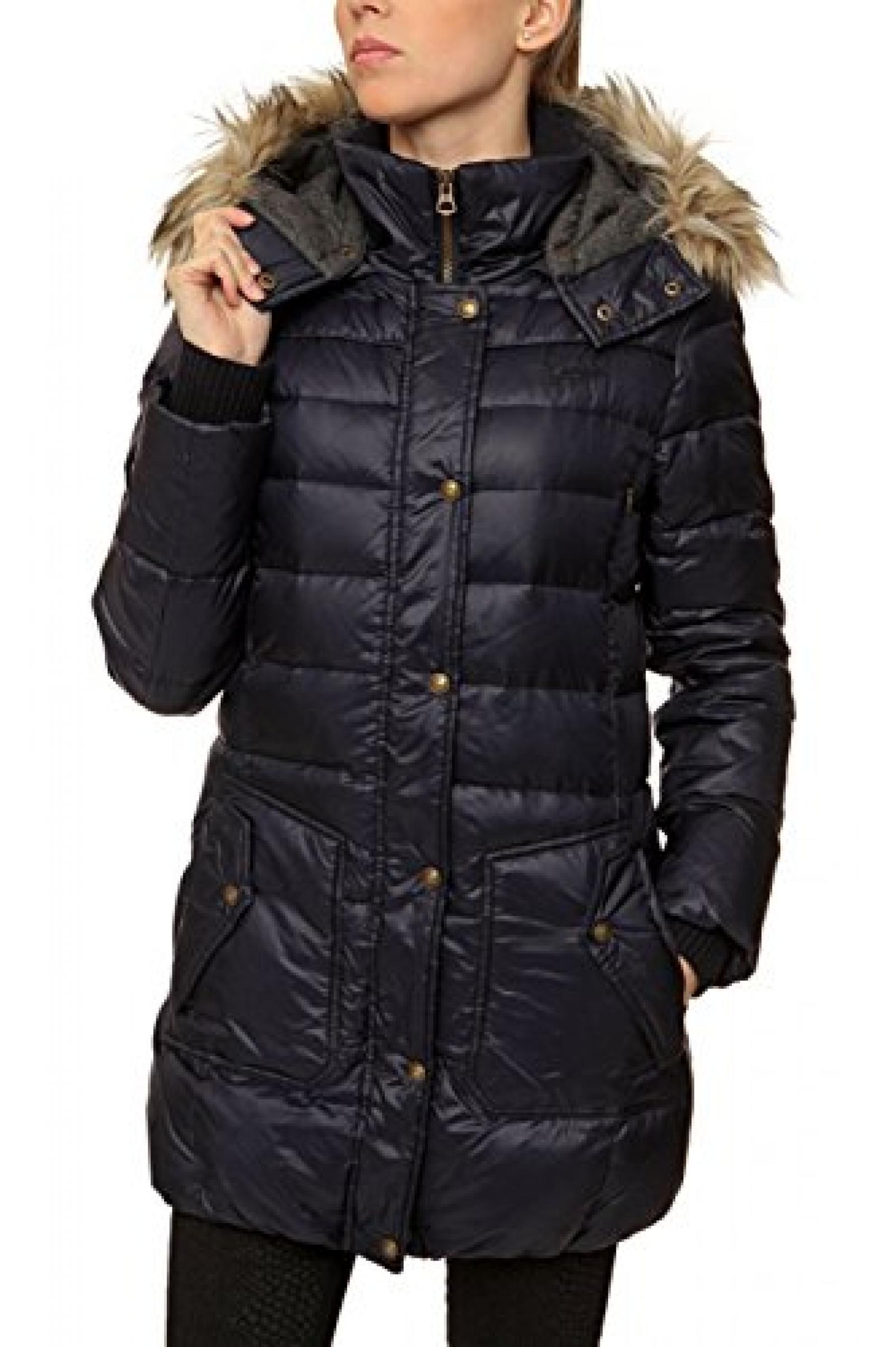 Campus Damen Jacke Daunenjacke , Farbe: Dunkelblau