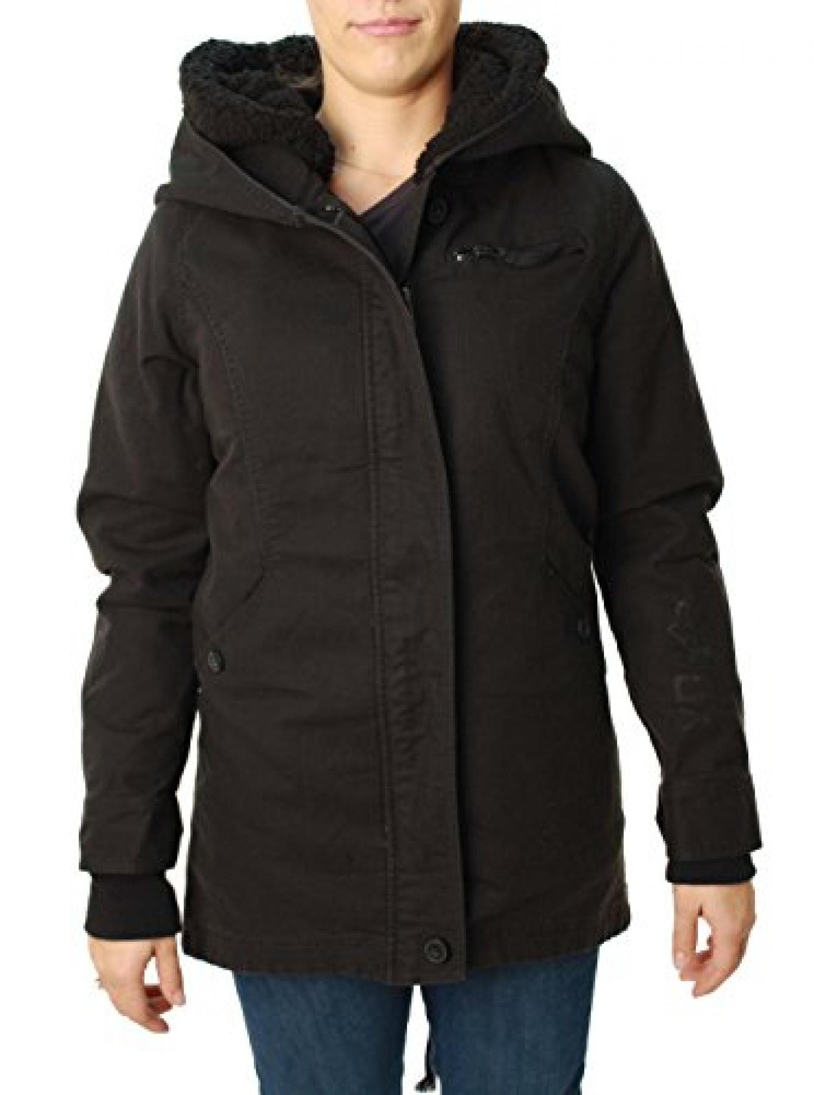 Fox Womens Jacket Stormy Schwarz