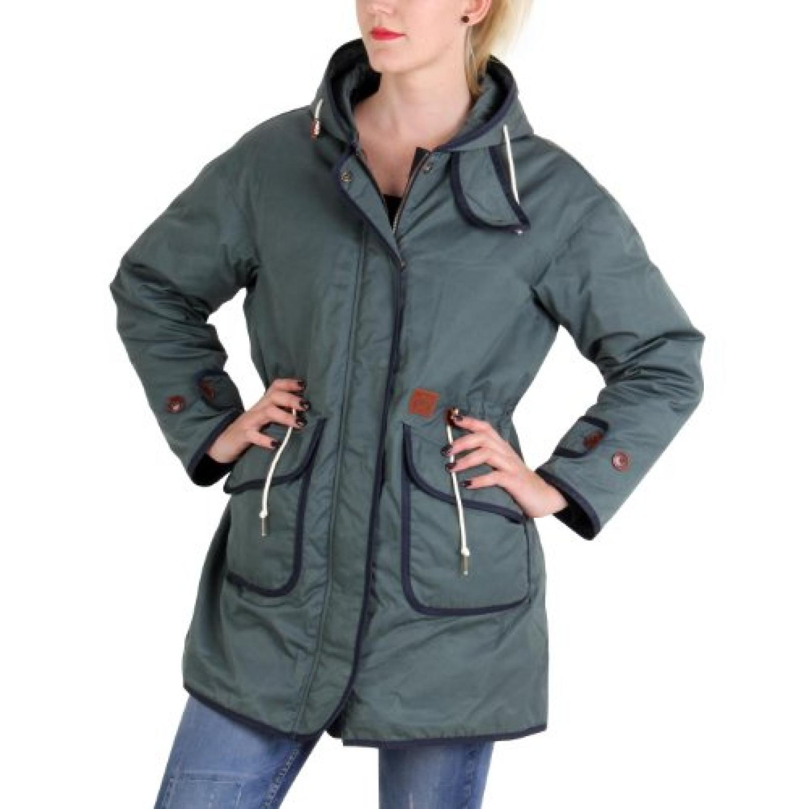 MUSEUM Damen Winter Daunenparka Green 19500