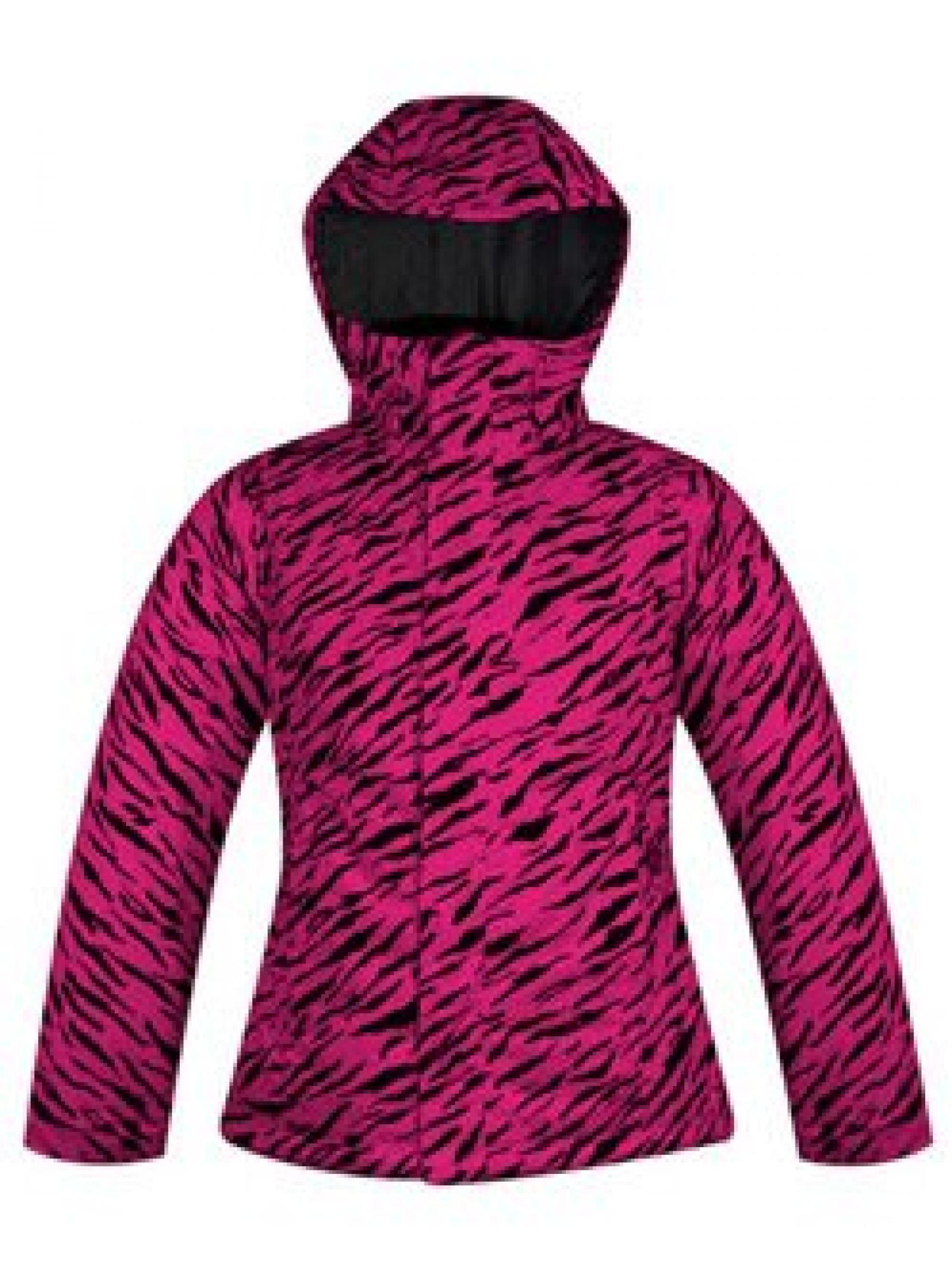 Betty Rides Damenwinterjacke DDN Nicole Parka Print (pink tigress)