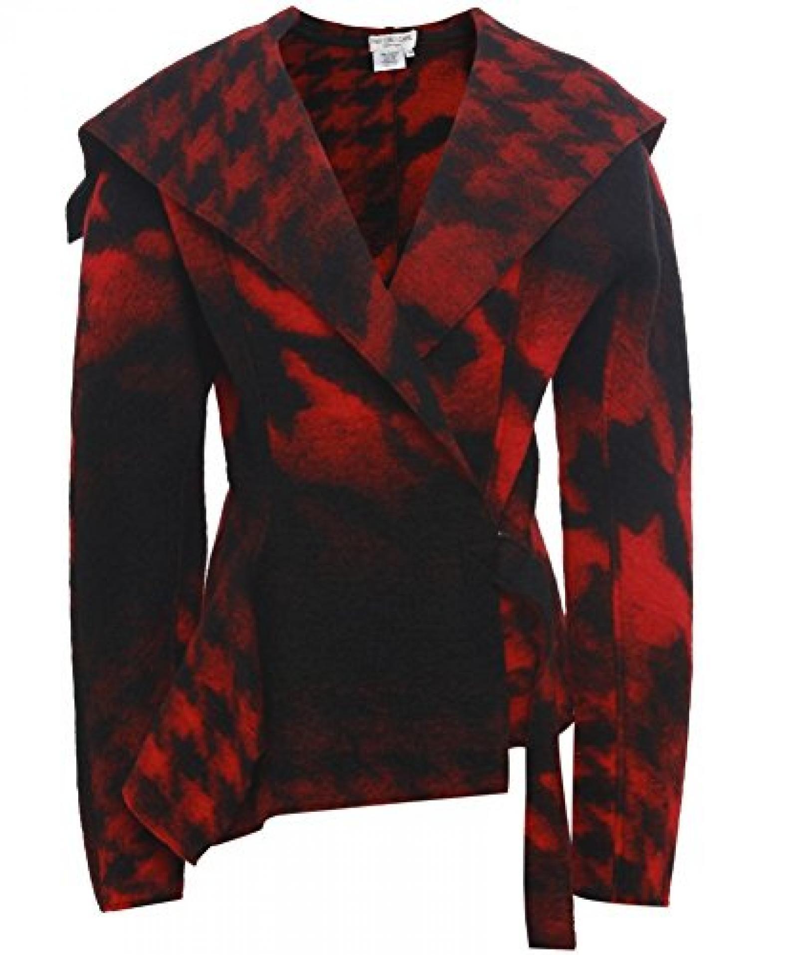 Ivan Grundahl Pile Jacke Rot