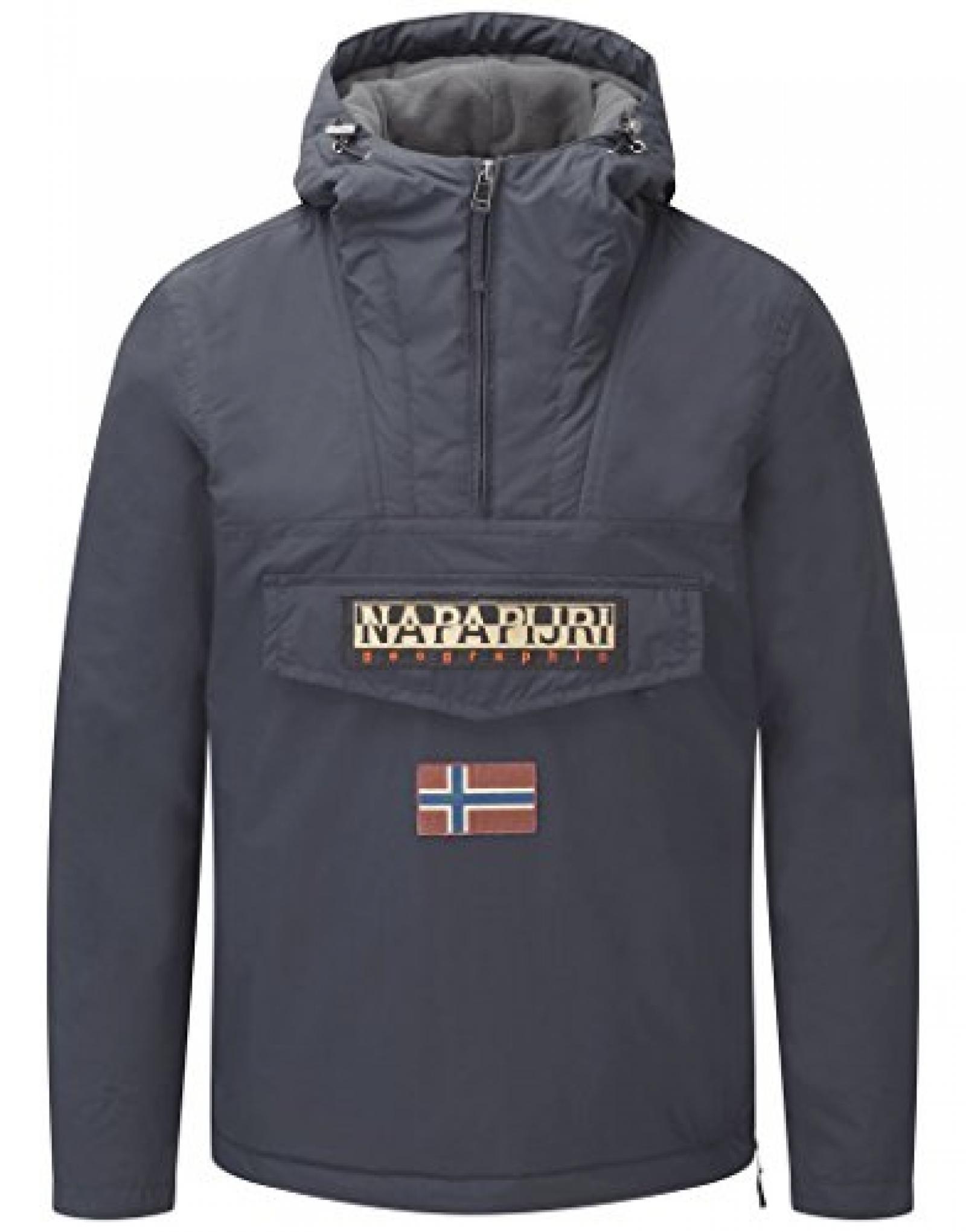 Napapijri Men?s Rainforest Winter Jacket ? Blu Marine N0Y5XE176