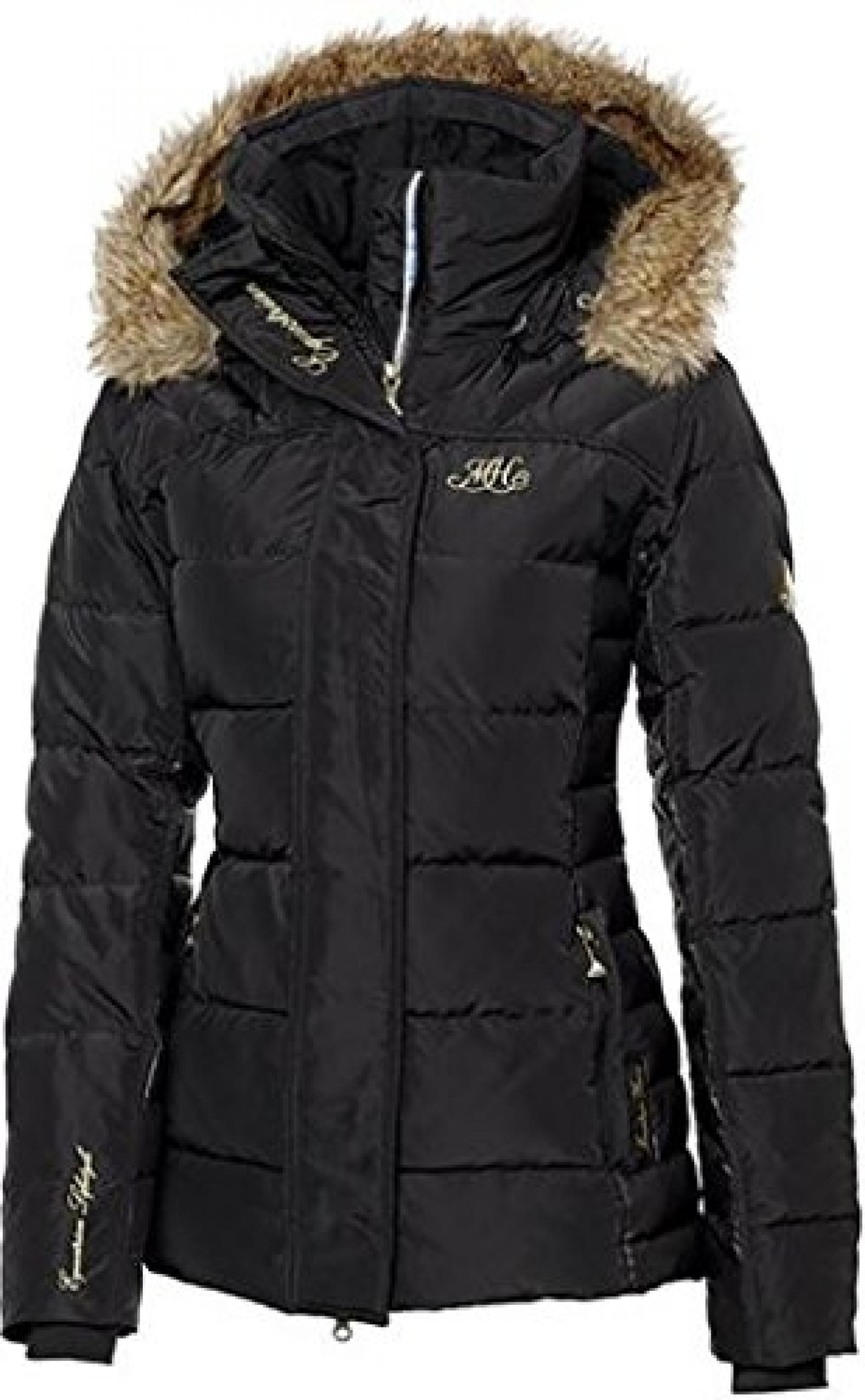 MOUNTAIN HORSE Damen Winter Jacke BELVEDERE JACKET, schwarz, XS