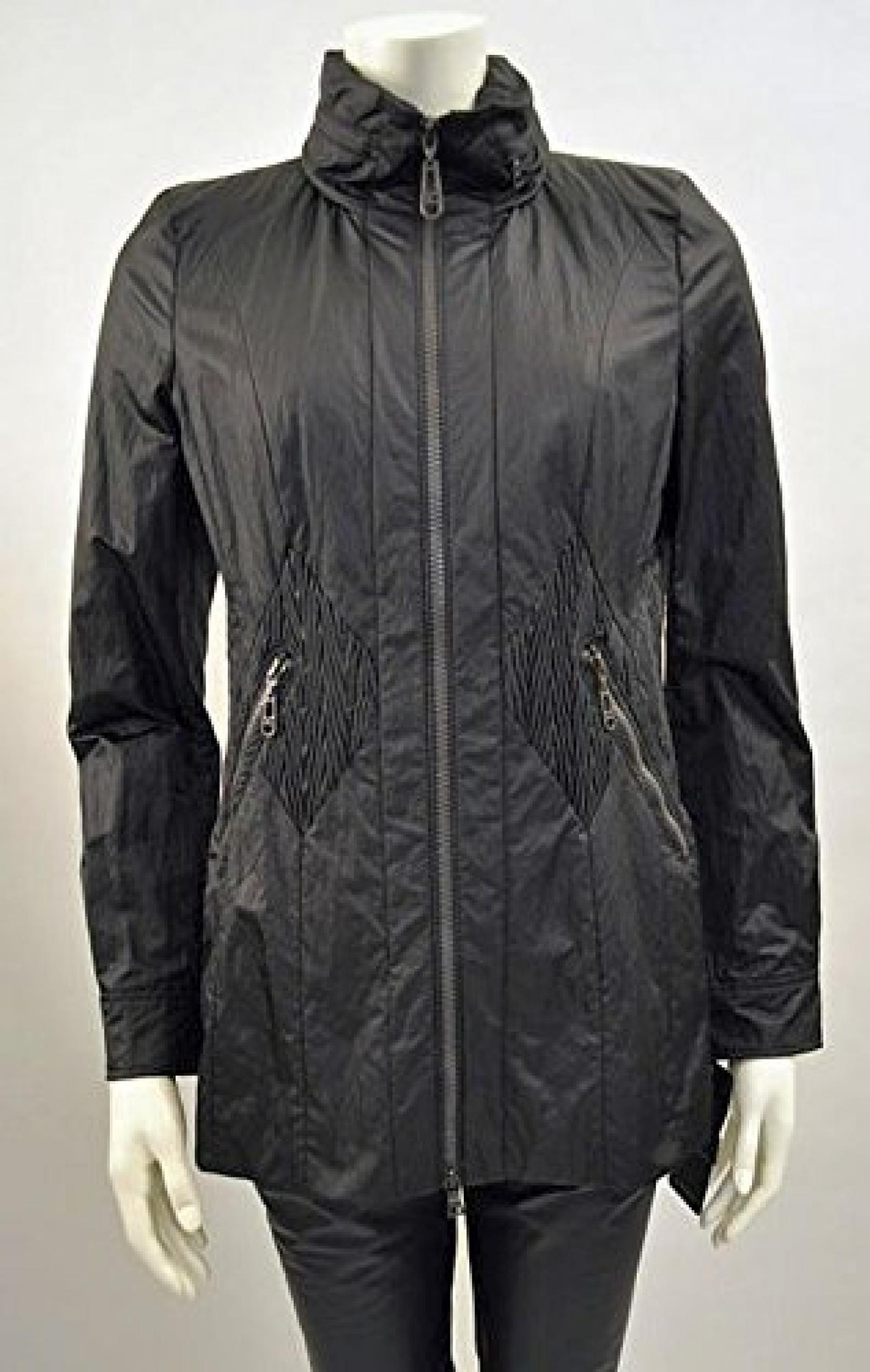 Creenstone Jacke mit Rautendetails Style 81.508.0 Schwarz