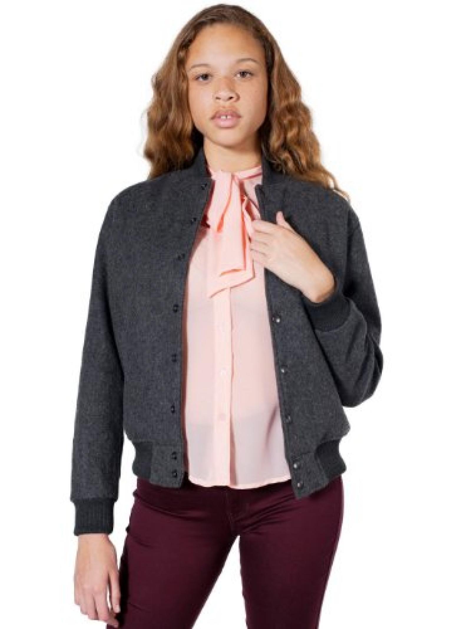 American Apparel Unisex Wool Club Jacket