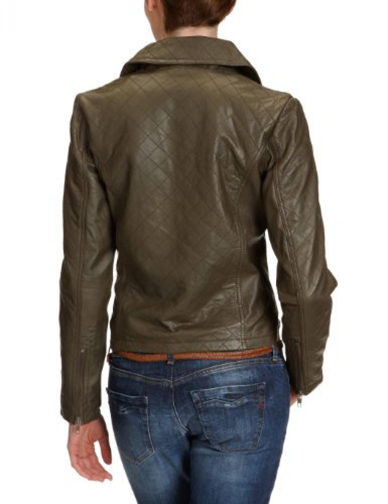 SELECTED Damen Jacke, 16024568 Viva Leather Jacket