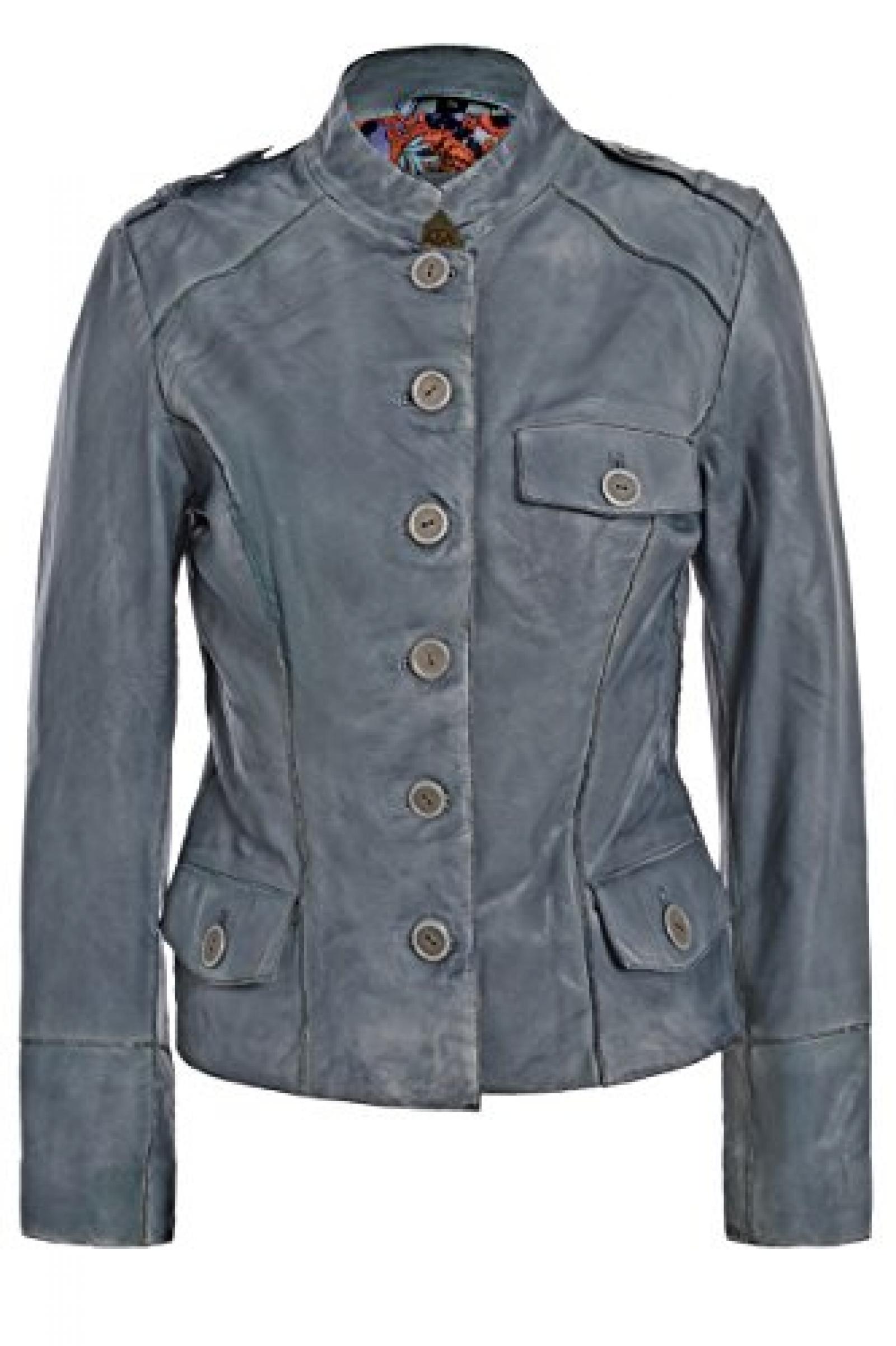 Paisley Park Lederjacke 9905 in Farbe 200 jeansblau
