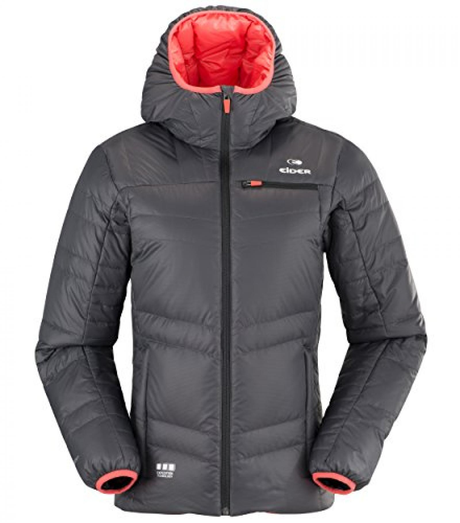 Eider Dibona Jacket Women graphite/fresh coral 2014