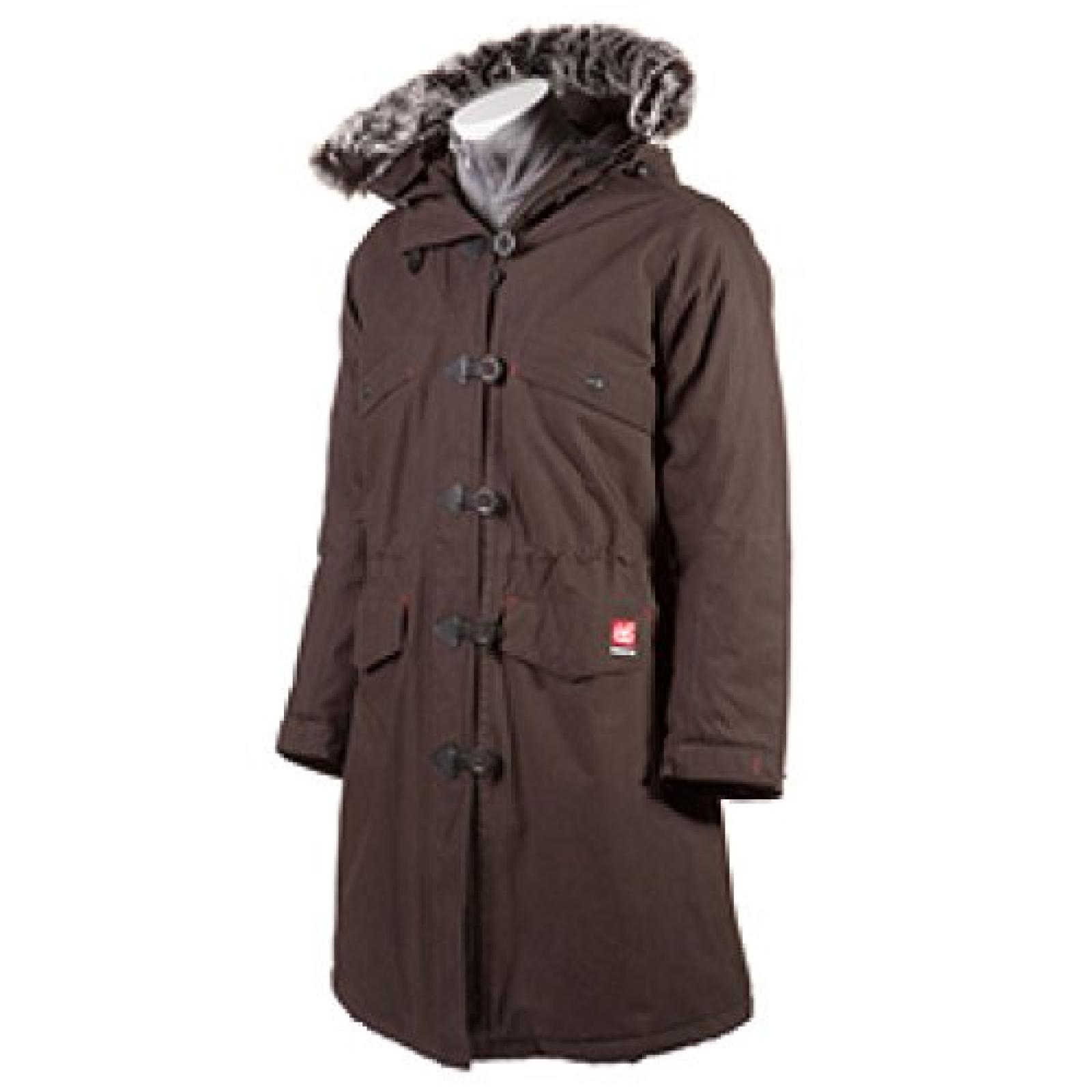 66 North Snaefell Womens Parka, dark espresso