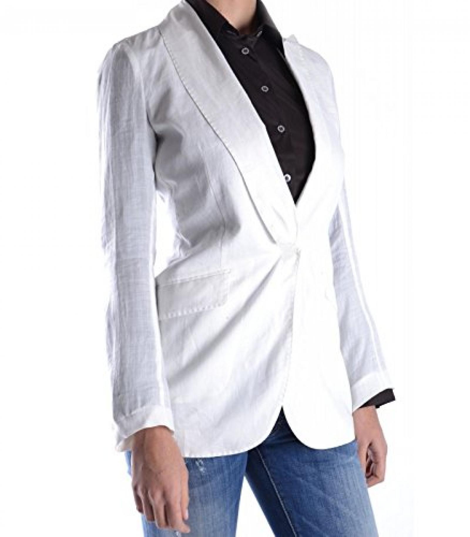 Brunello cucinelli jacket gm863 44 white