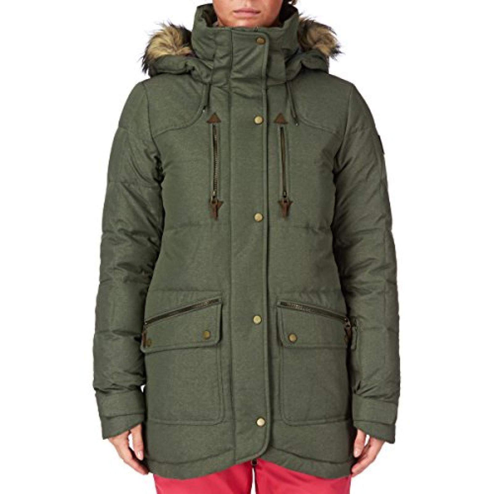 Rip Curl Liberty Parka Jkt Snow Jacket - Dusty Olive