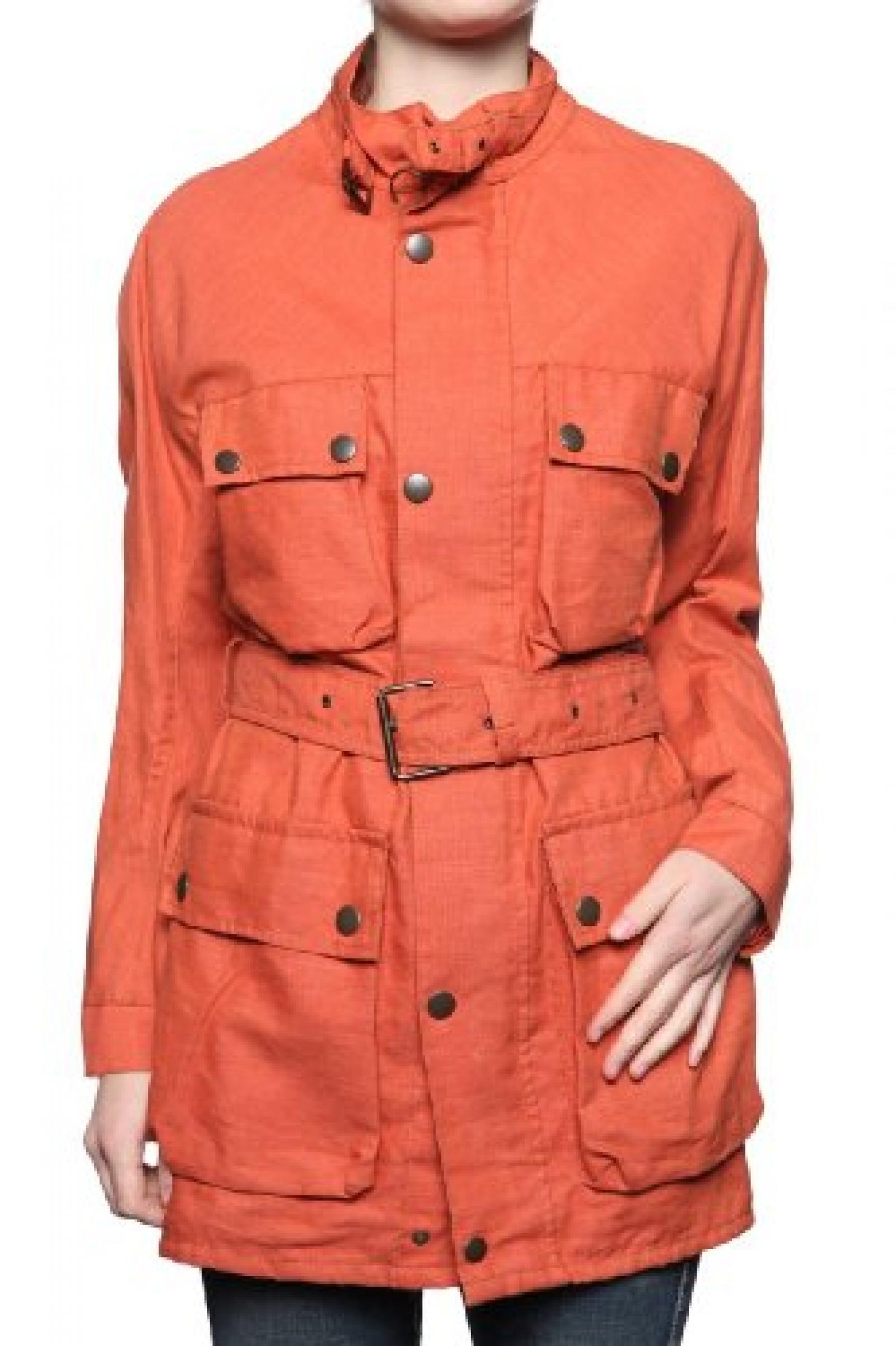 Belstaff Damen Jacke XL500 DAHAMRASALA, Farbe: Orange