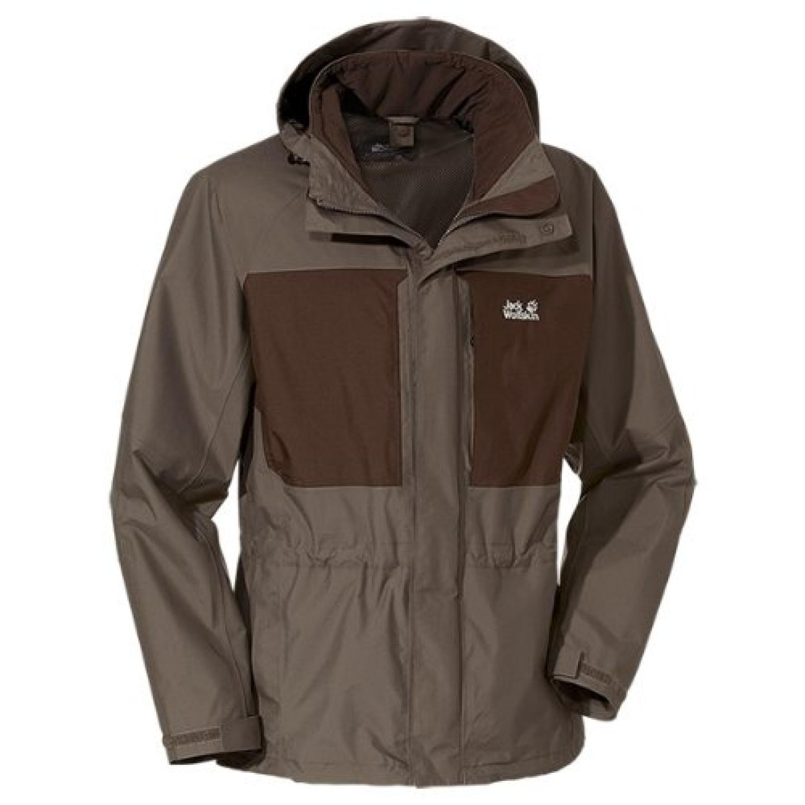 Jack Wolfskin Herren Wetterschutzjacke Brooks Range Jacket Men