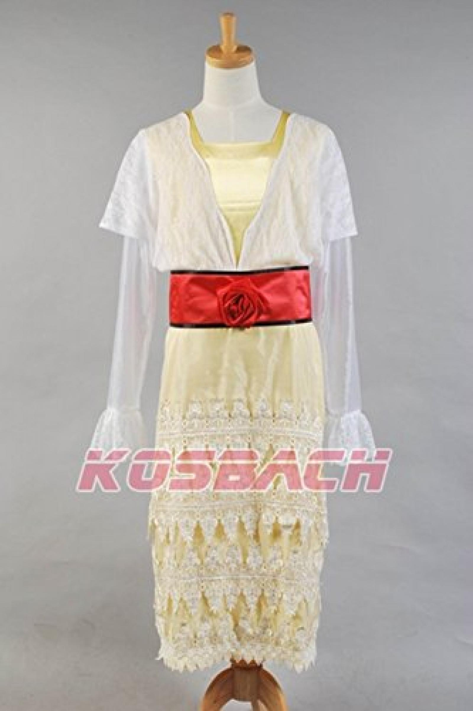Replica Titanic Rose Poloere Lace Dress Cosplay Kostuem