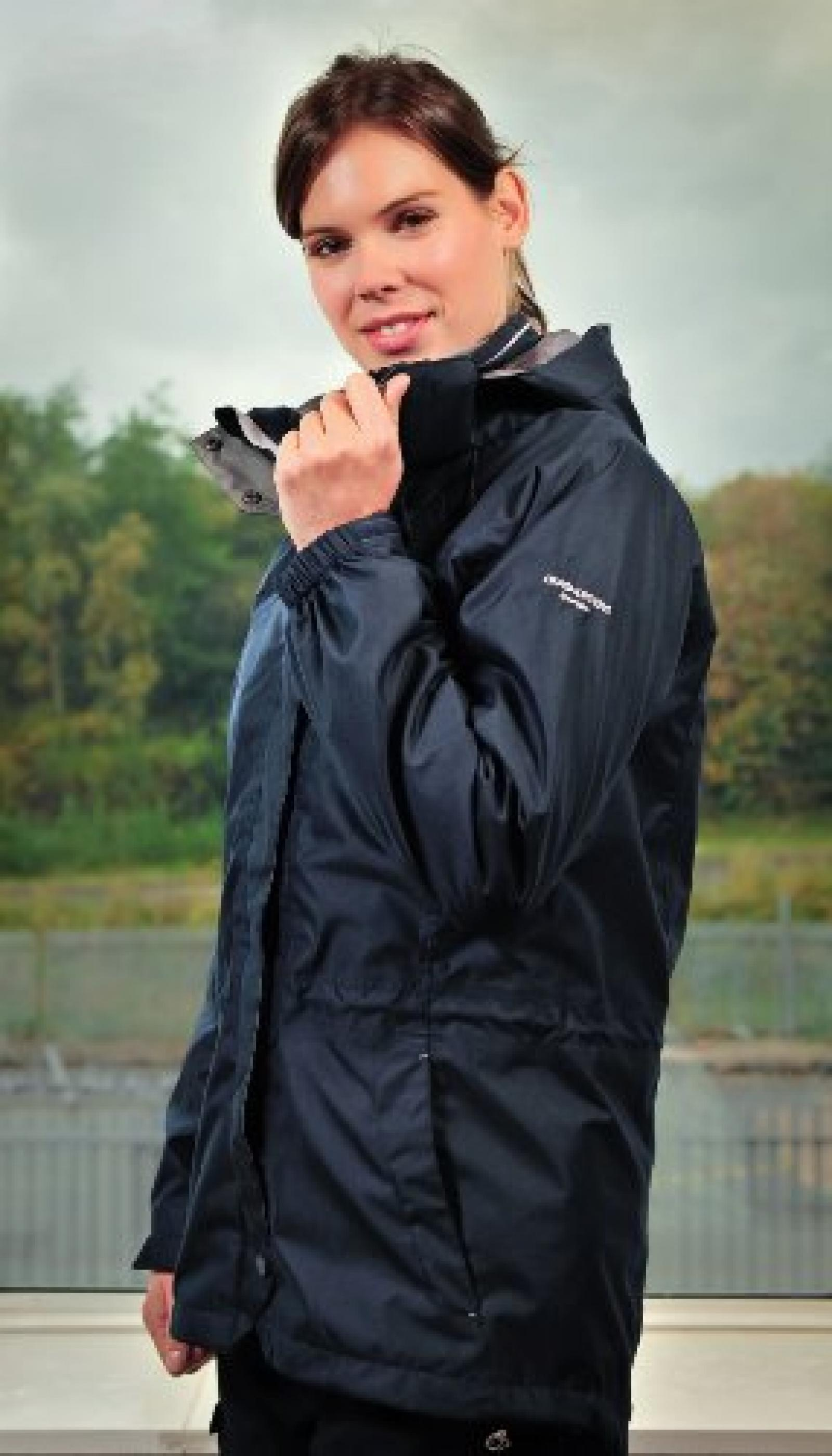 Womens Madigan 3 in 1 Jacket COLOUR Navy SIZE 14