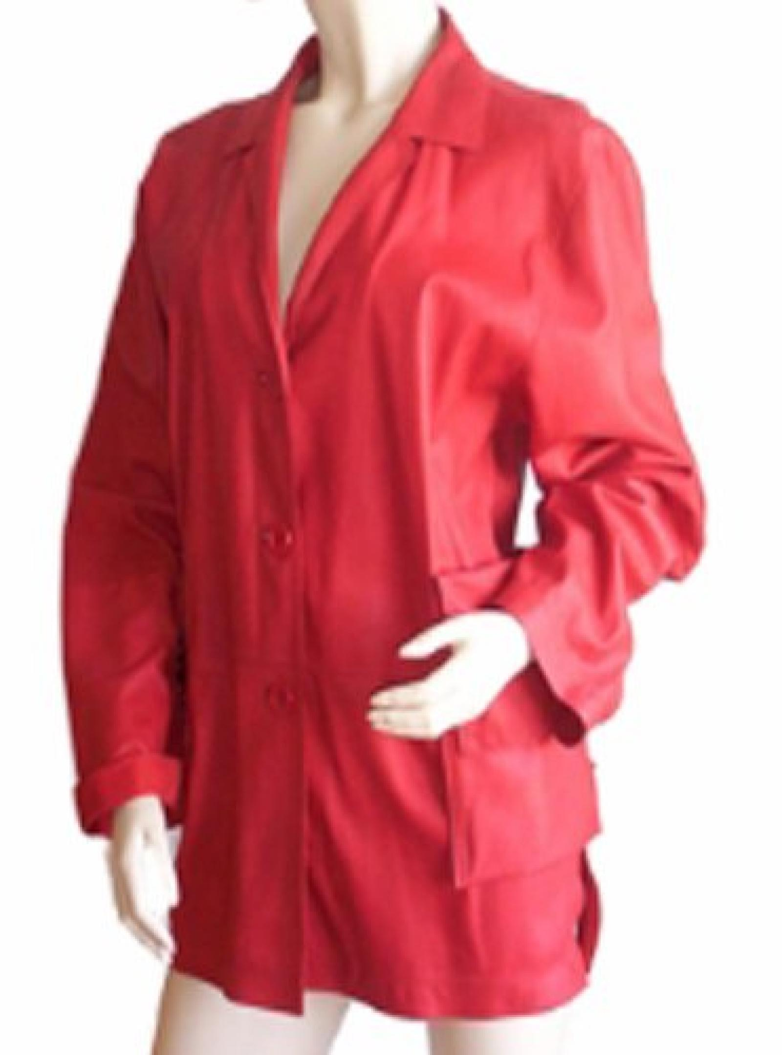 polo´s for you Lederjacke 882 Rouge Gr. M