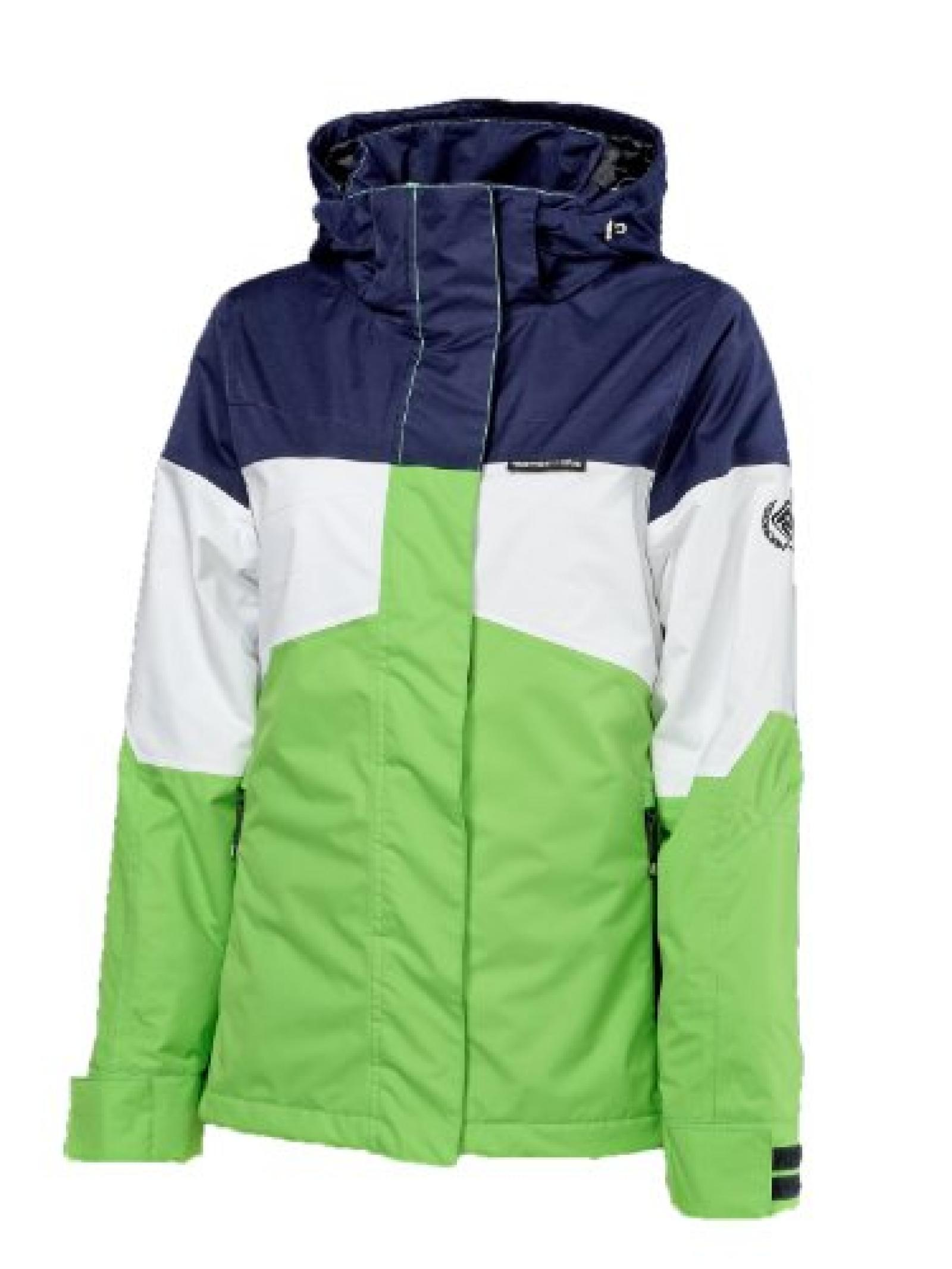 Rehall SUNPEAK Jacket Damen Ski- und Snowboardjacke solid lime kombi