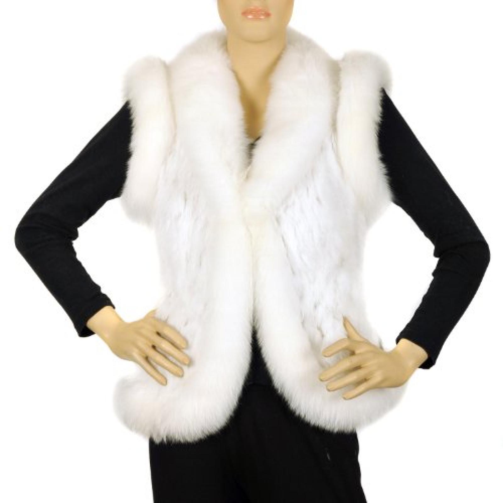 Waooh - Fur - Kaninchen und Fuchs Jacke - Weiß - One Size