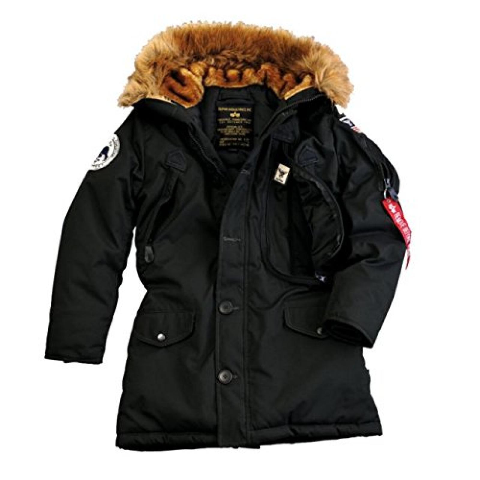 Alpha Ind. Frauen-Jacke Polar Jacket Wmn - black