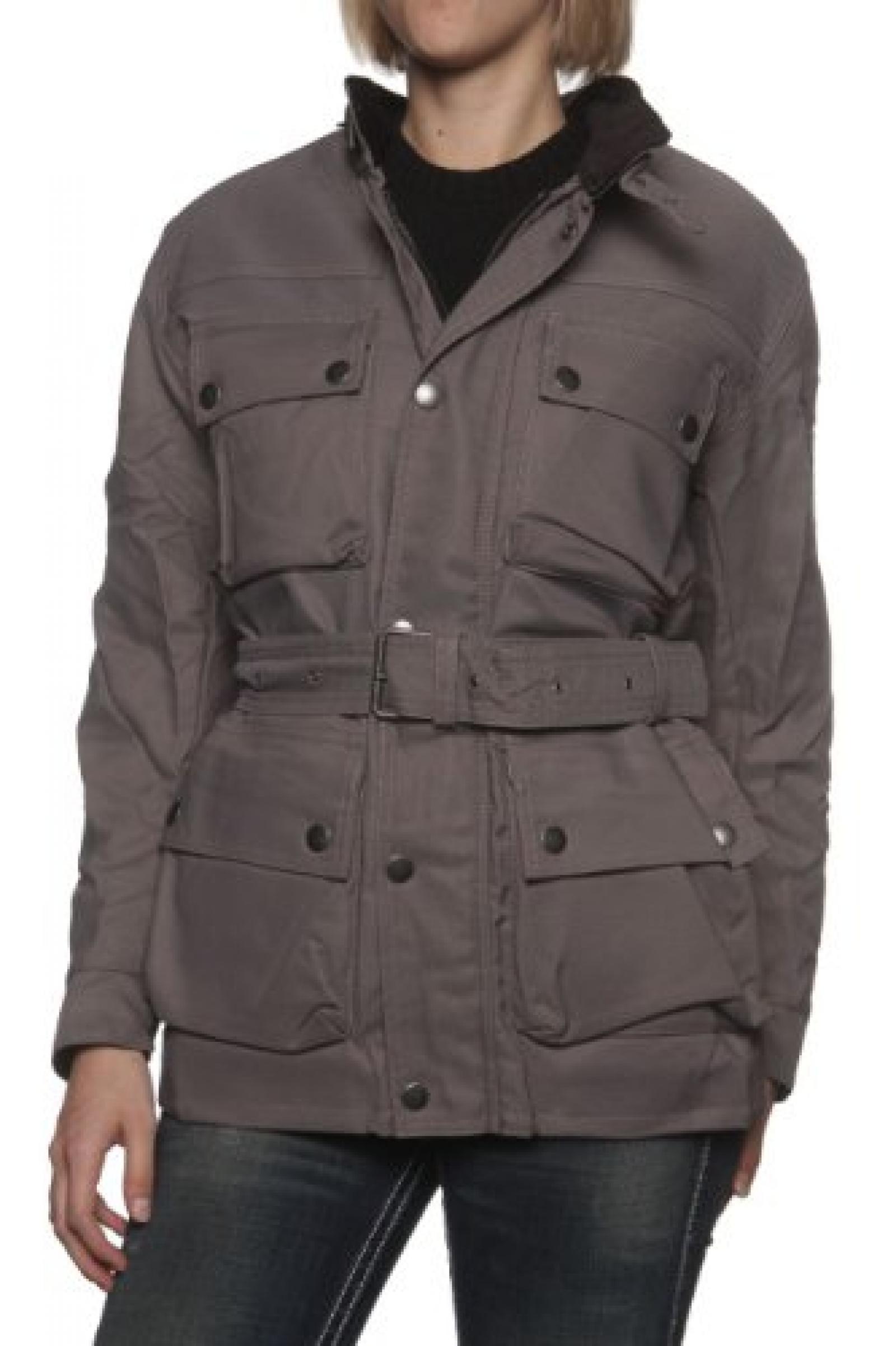 Belstaff Damen Jacke Multifunktionsjacke DELTA FORCE, Farbe: Grau