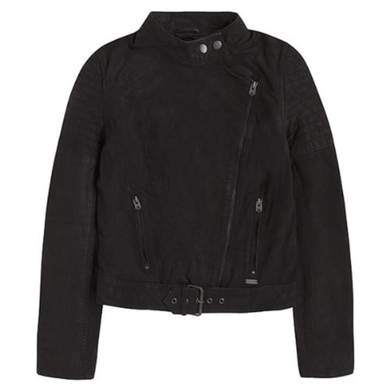 Pepe Jeans London, Lederjacke MORGAN Black