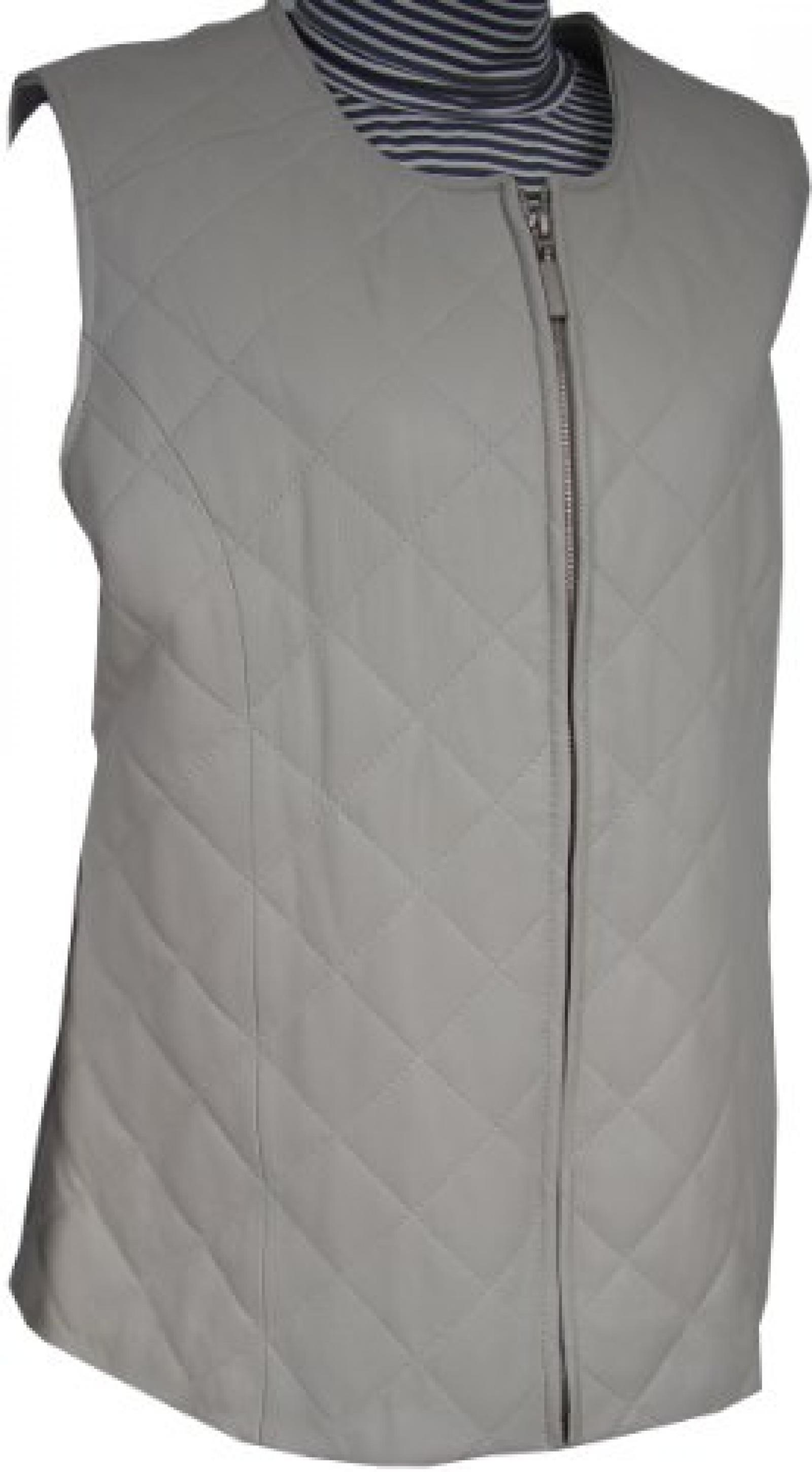 Paccilo FREE tailoring Women 4051 Leather Long Vest