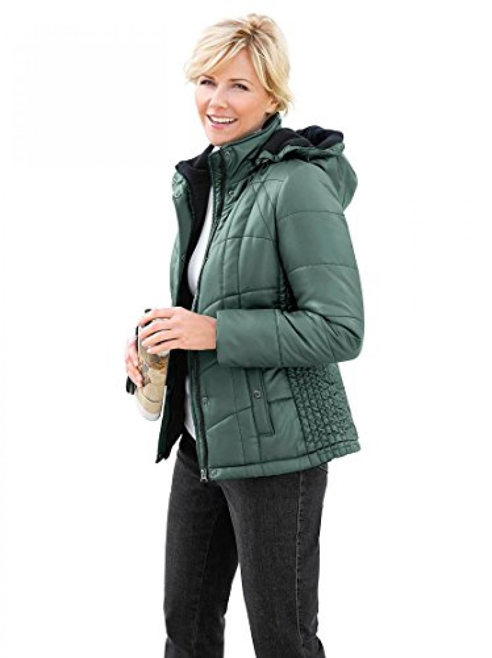 Collection L: Damen-Jacke - tannengrün - 359260