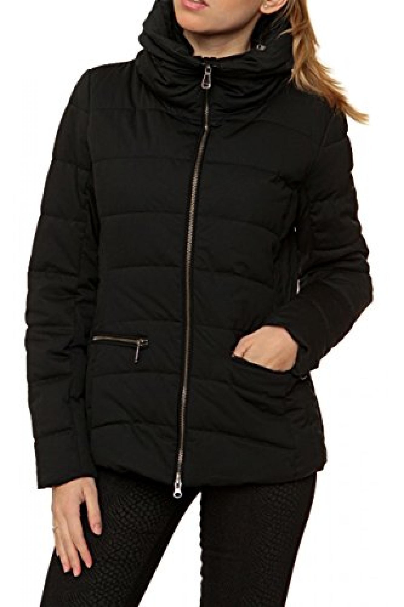 Geox Damen Jacke Winterjacke , Farbe: Schwarz