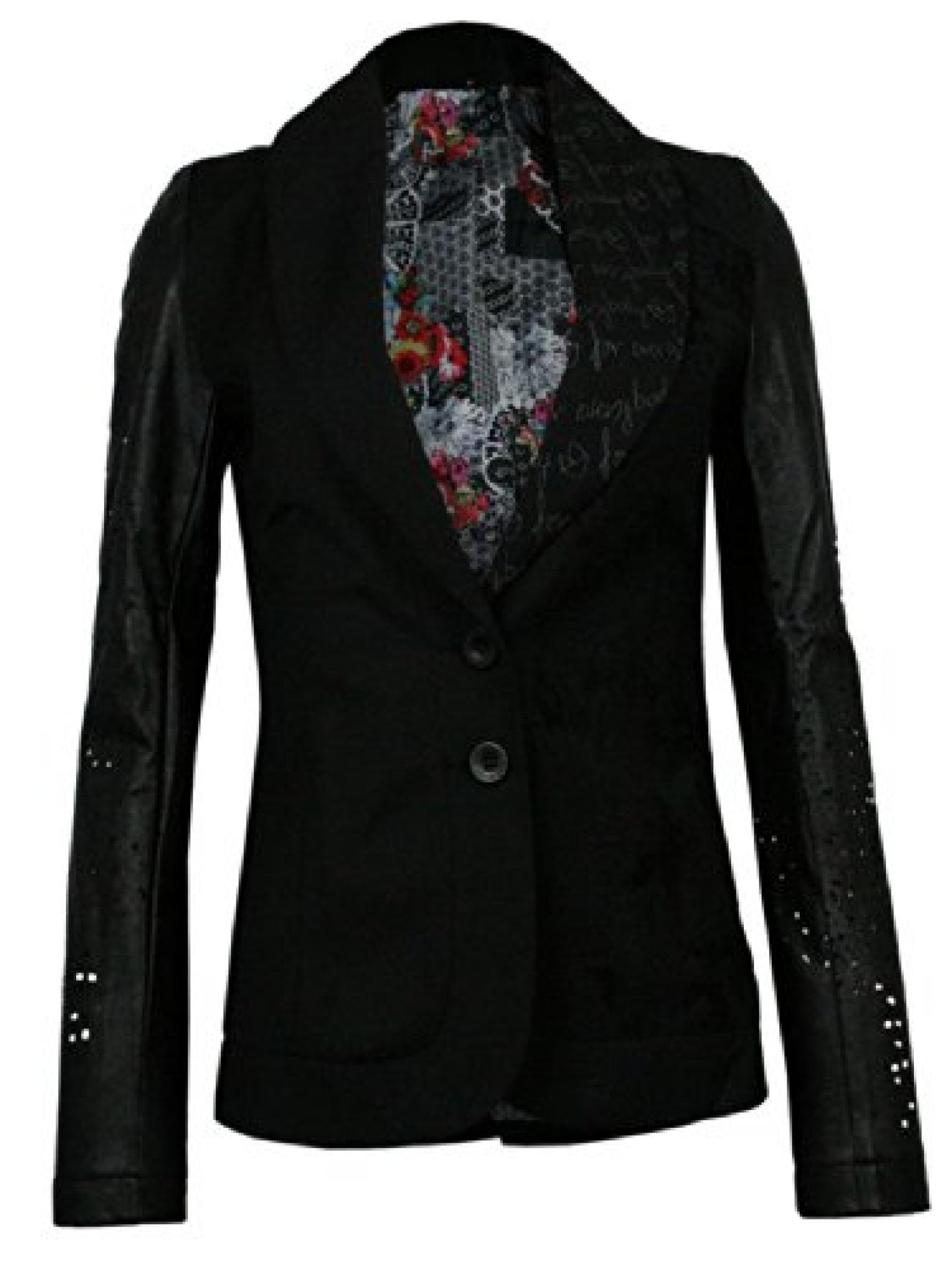 DESIGUAL Damen Designer Jacke Jacket - ALREVES -