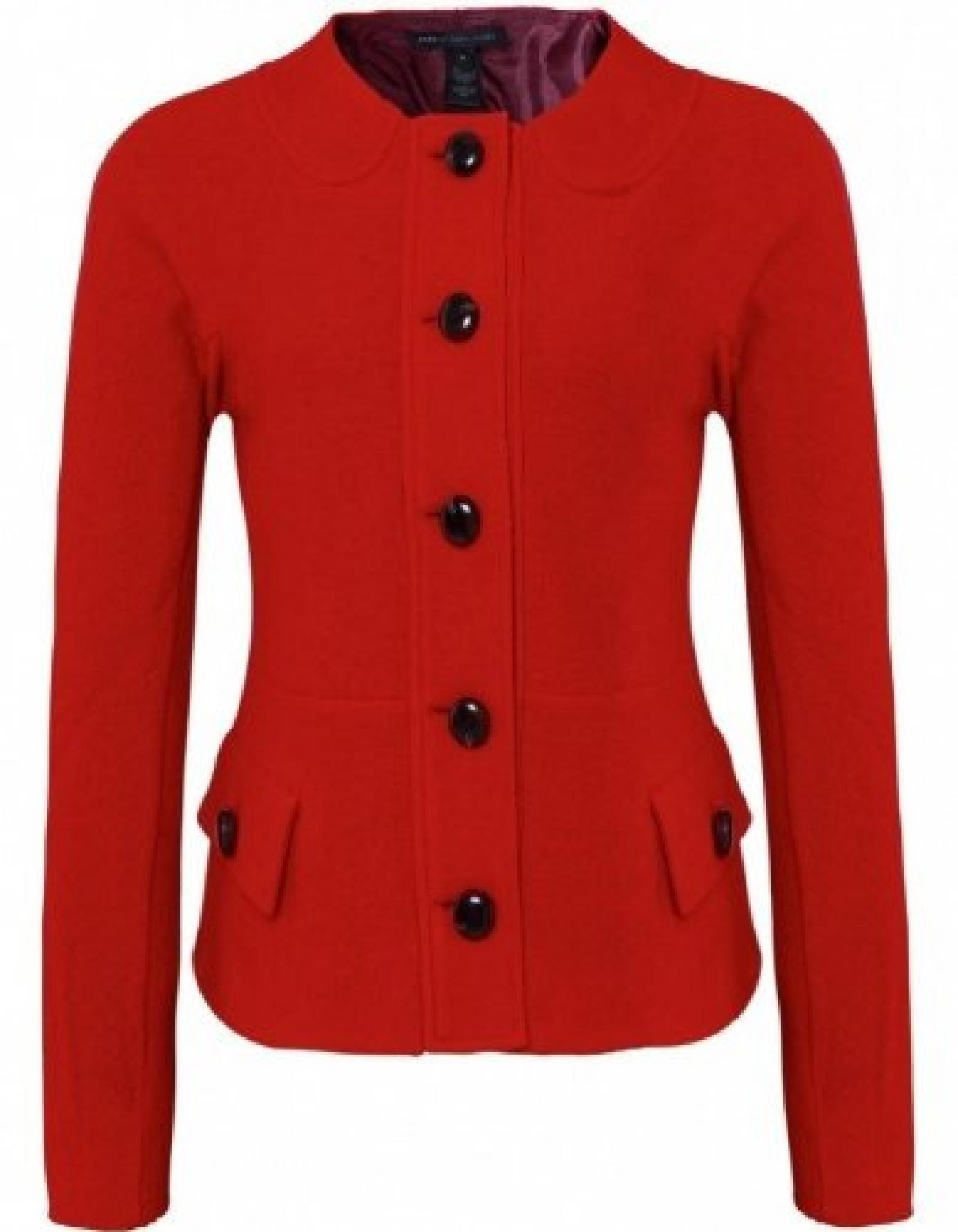 Marc by Marc Jacobs Blythe Wool Jacket Rot