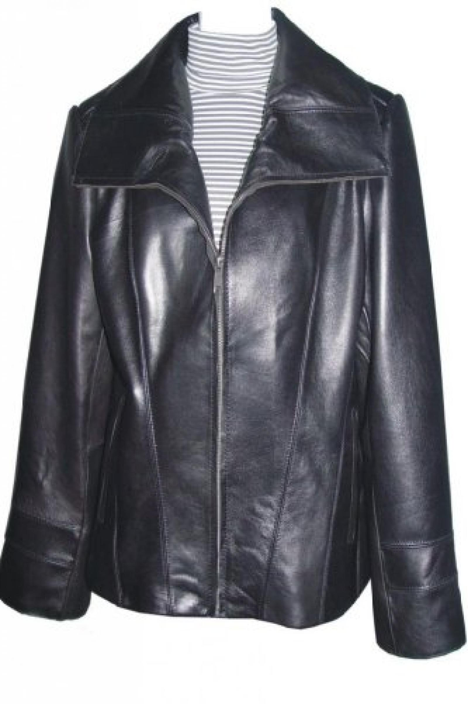 Paccilo FREE tailoring Women 4042 Lambskin Real Leather Jacket