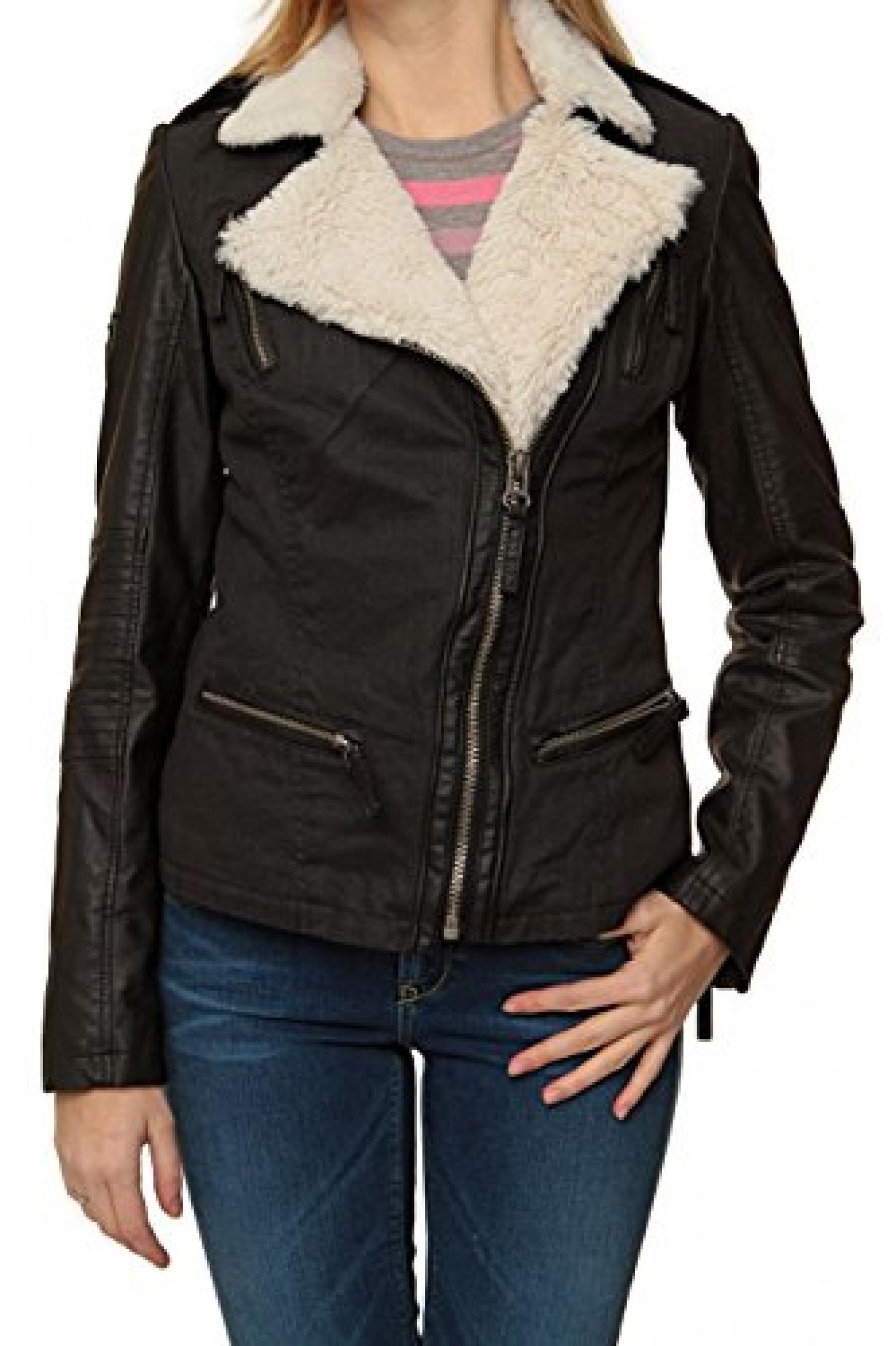 Maze Damen Jacke M-Line Jacke, Farbe: Schwarz