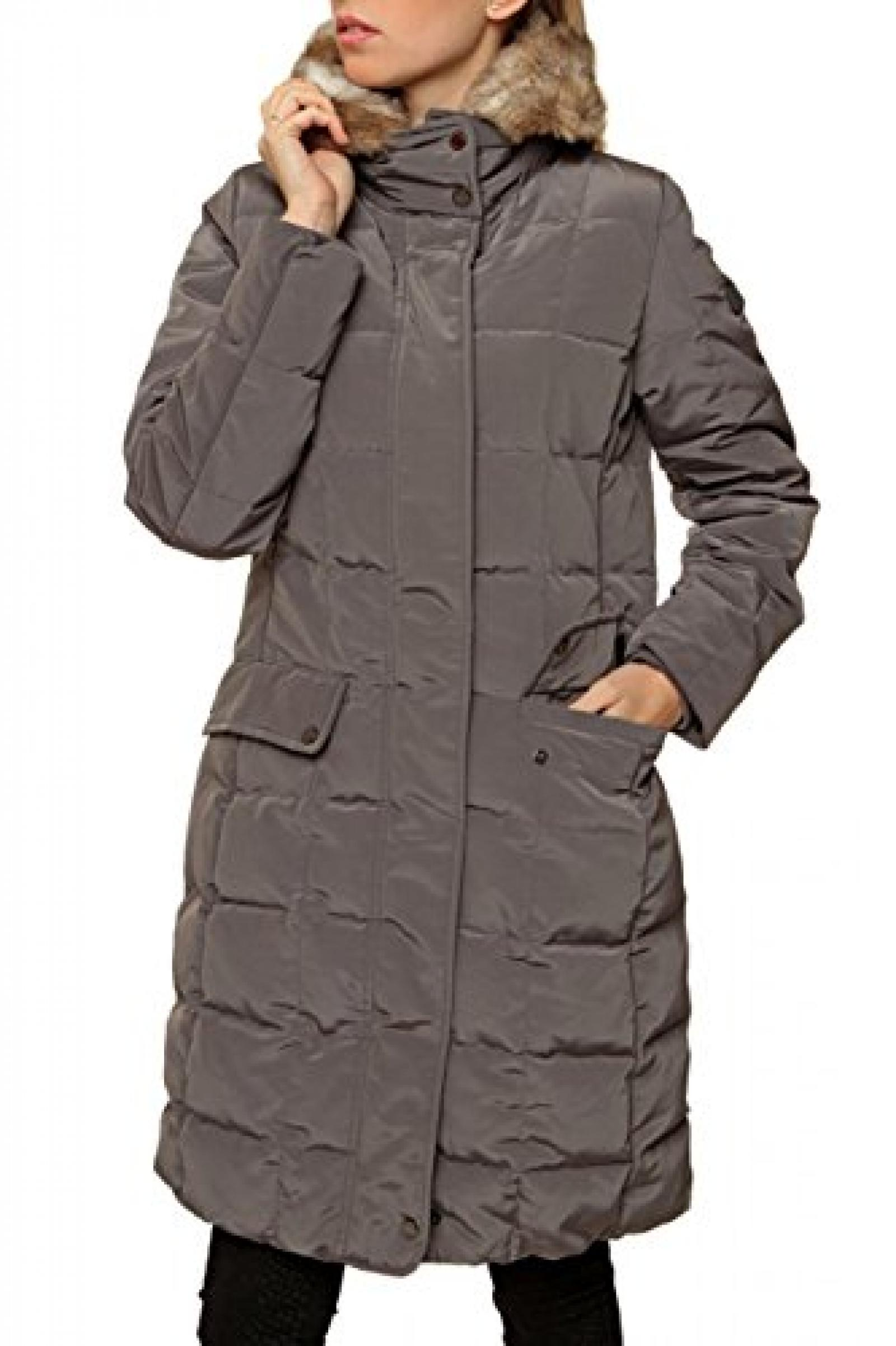 Geox Damen Jacke Daunenjacke , Farbe: Grau