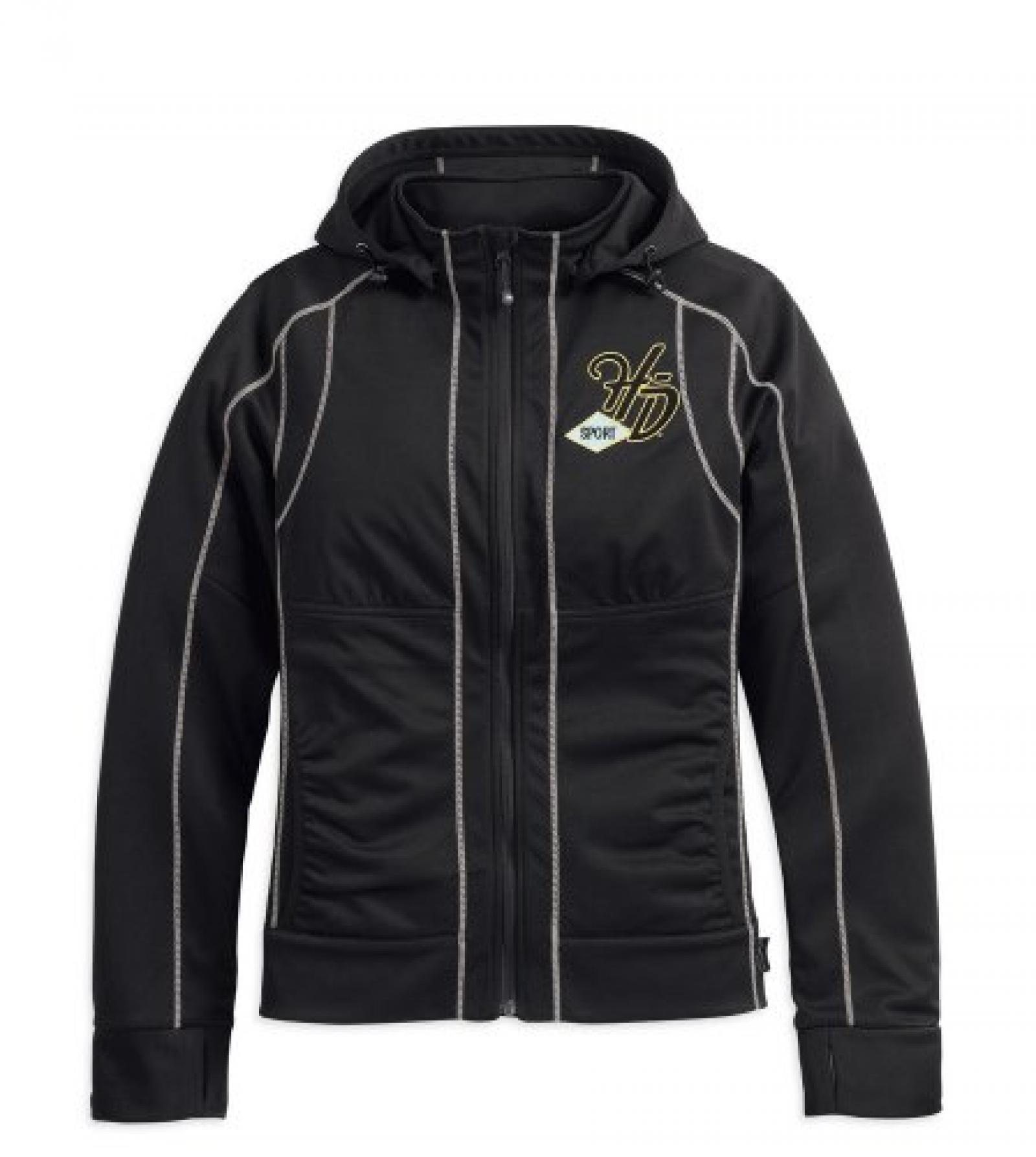 Harley-Davidson Speedway RCS Windproof Soft Shell Jacket 97377-13VW Damen Outerwear