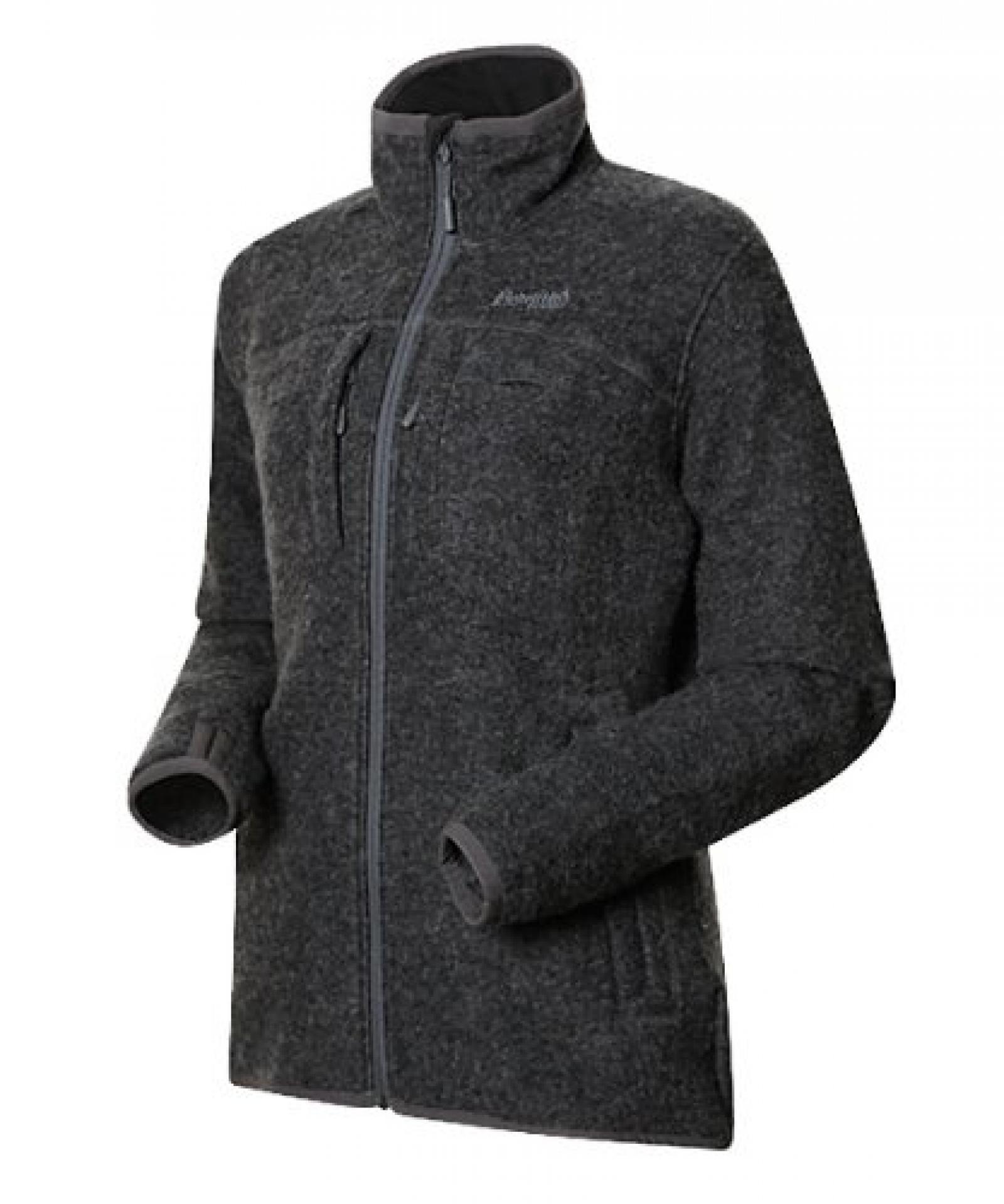 Bergans Myrull Lady Outdoor Jacket, dark grey melange