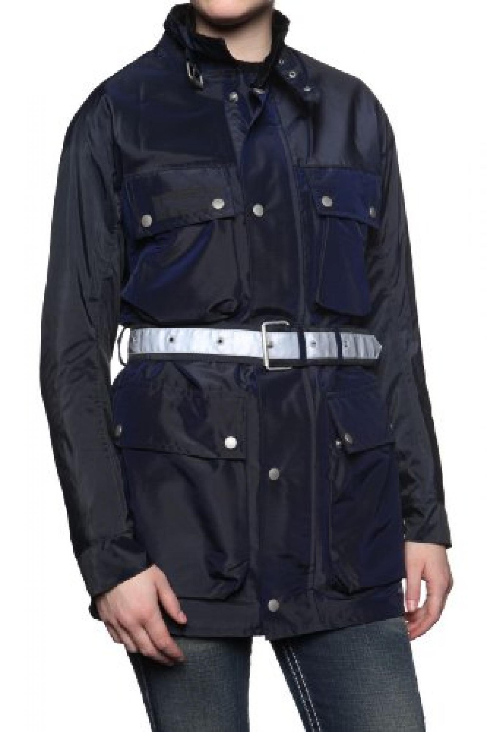Belstaff Damen Jacke Multifunktionsjacke XL500 T, Farbe: Dunkelblau