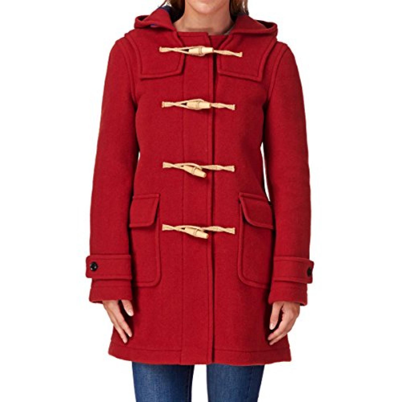 MENIL Cornwall Classic Duffle Jacket - Rust