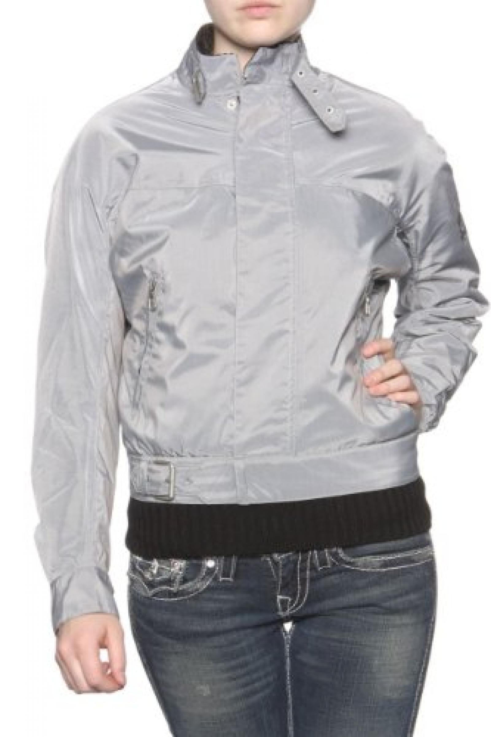 Belstaff Damen Jacke Blouson-Jacke PIRAT BLOUSON DE LUXE, Farbe: Grau