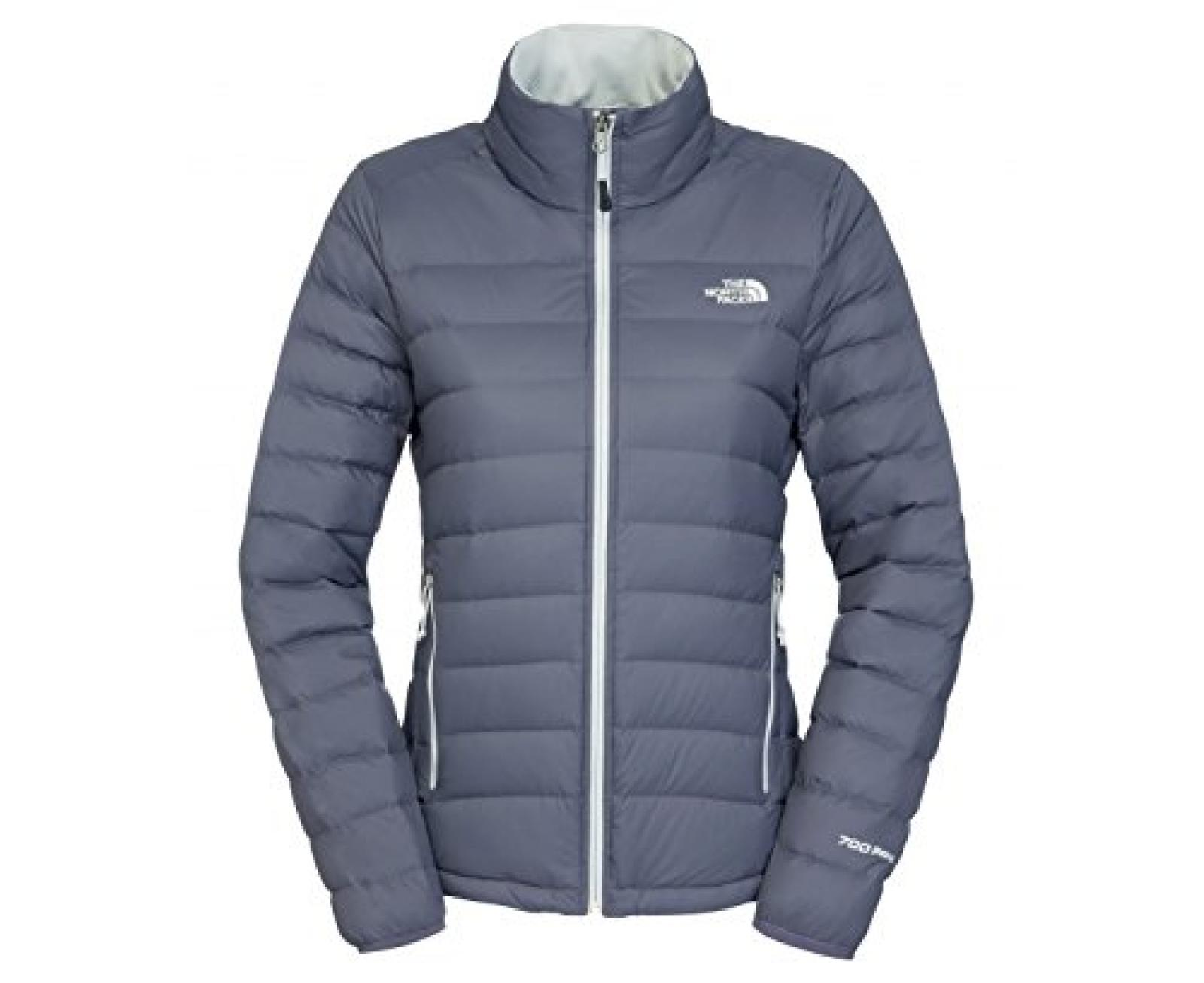The North Face Women Mistassini Jacket Greystone Blue